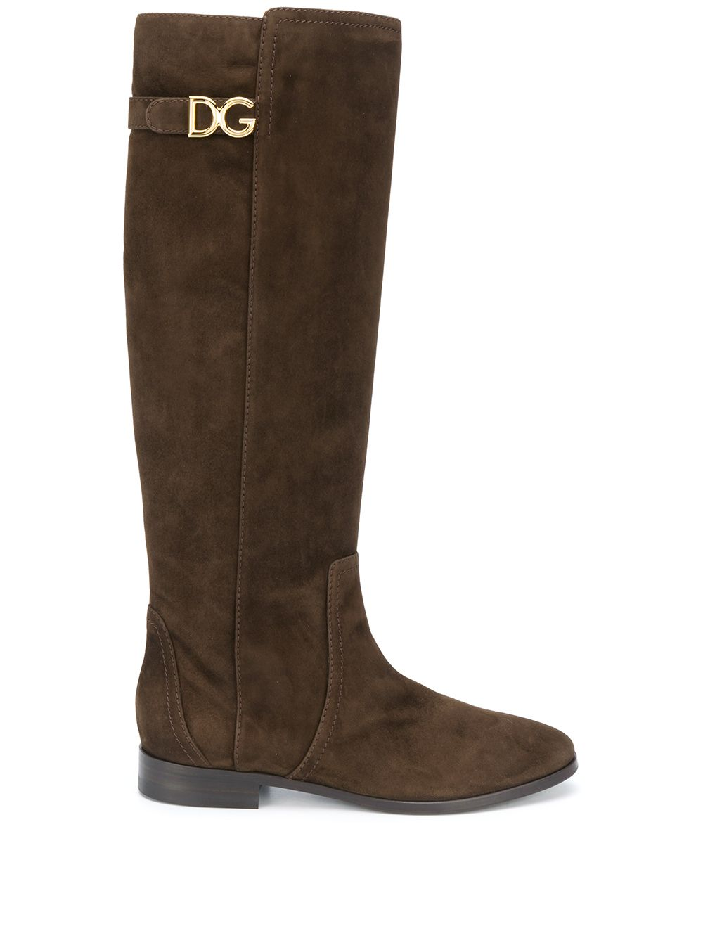 Picture of Dolce & Gabbana | Suede Boots