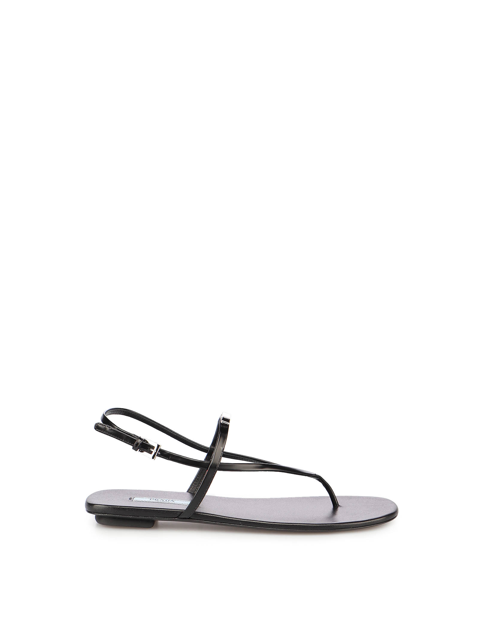 Picture of Prada | Leather Flat Sandals