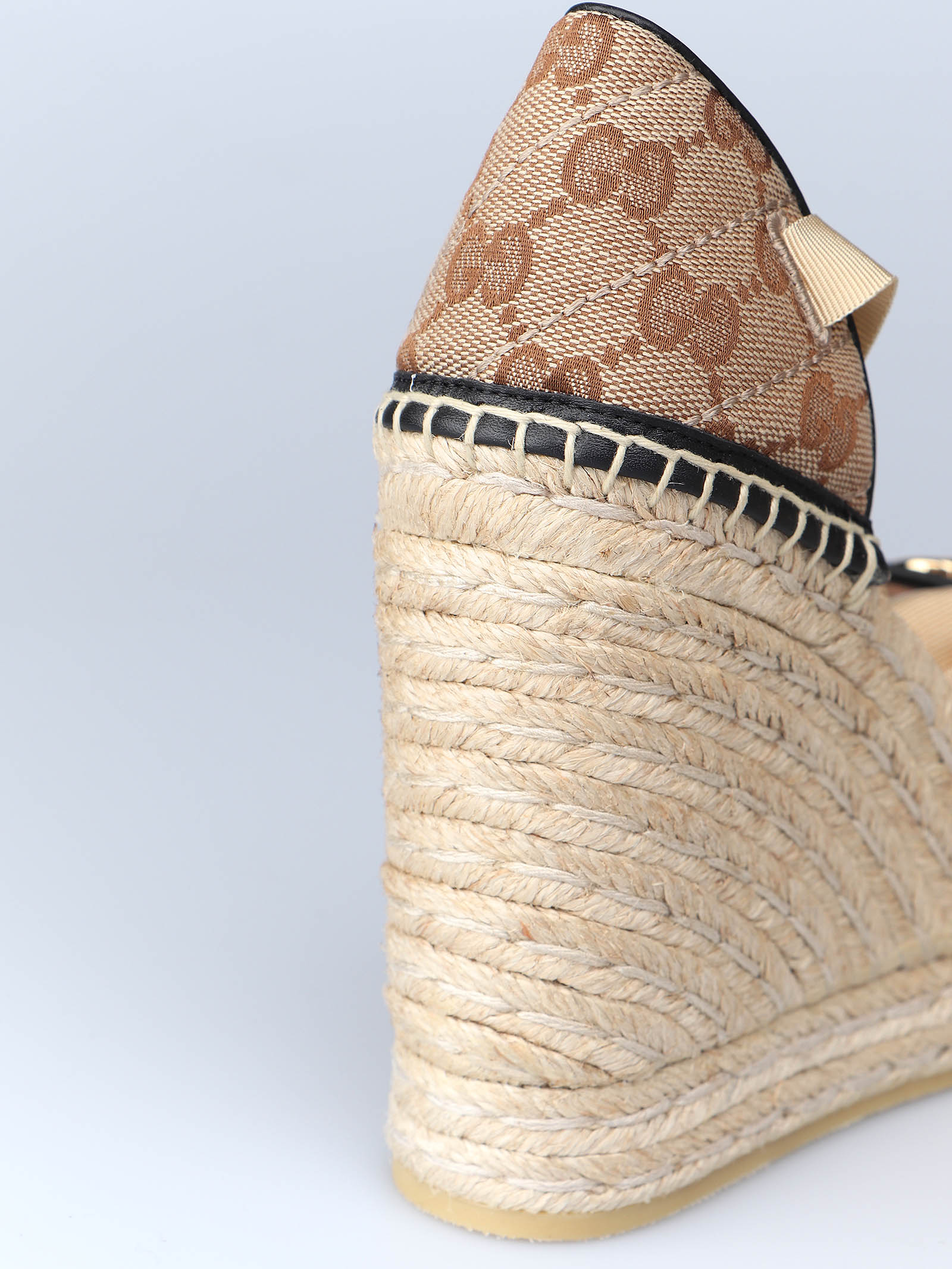 Picture of Gucci | Platform Espadrille W/Double G