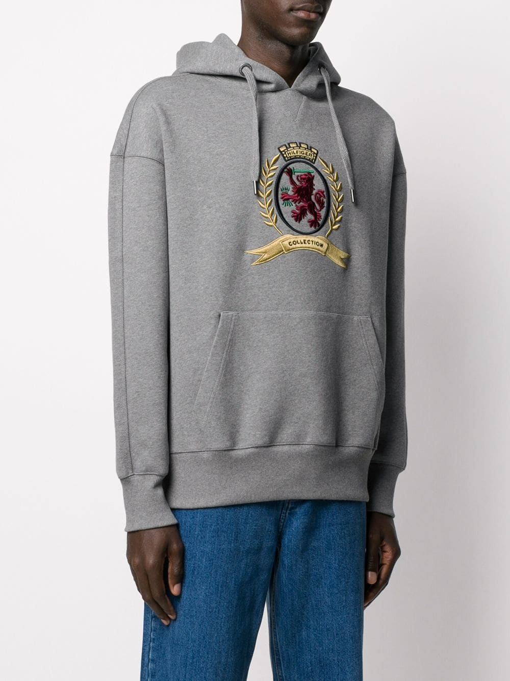 Picture of Tommy Hilfiger | 3D Crest Hoodie