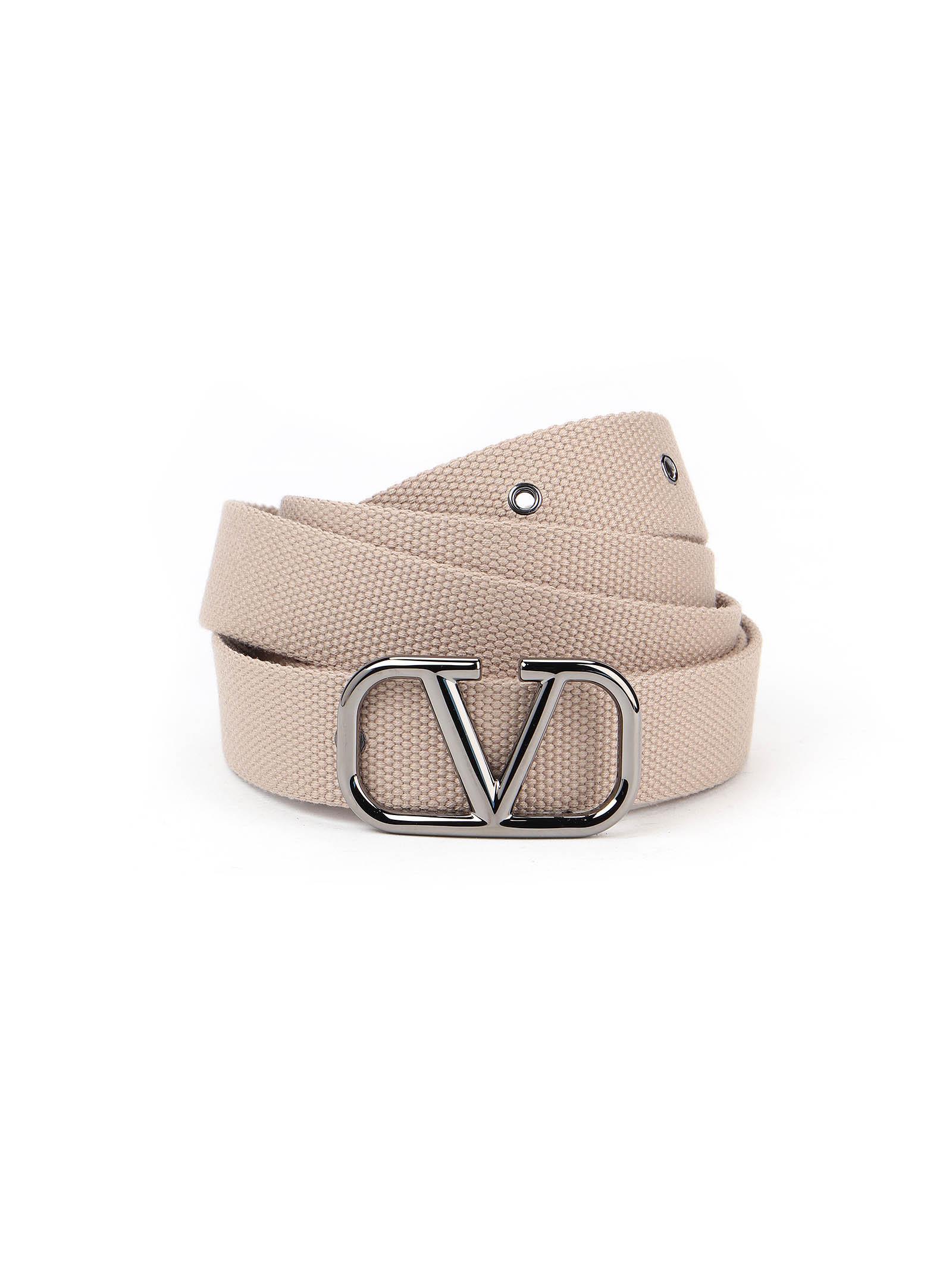 Picture of Valentino Garavani | Vlogo Buckle Belt H.30