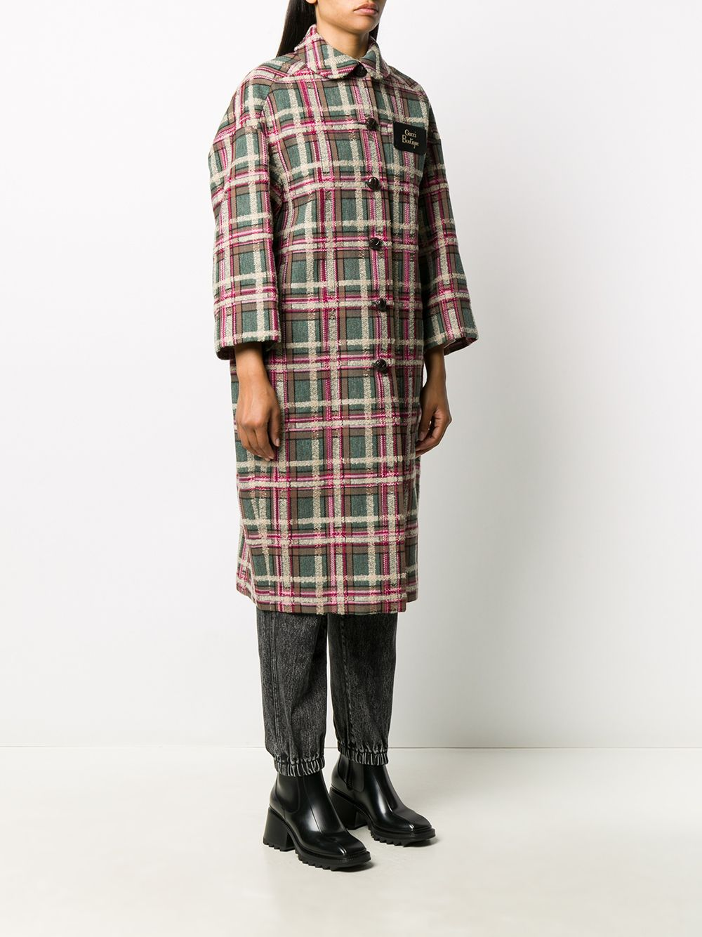 Picture of Gucci | Tartan Coat