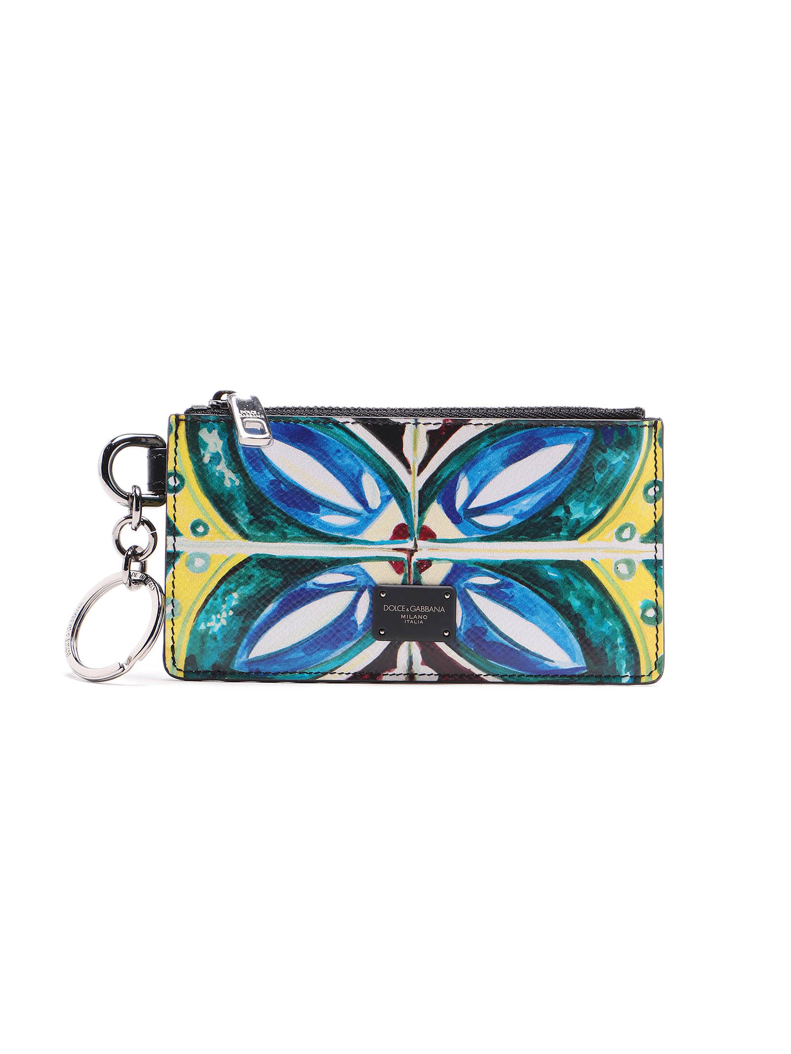 Picture of Dolce & Gabbana | Maiolica Print Card Case