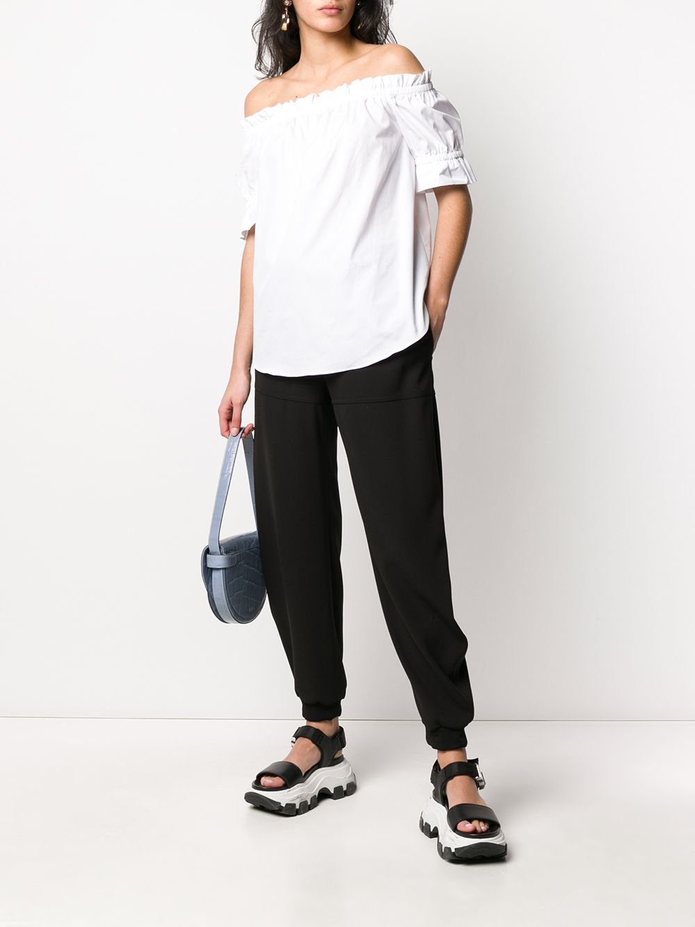 Immagine di Michael Kors | Poplin Off Sholder Top