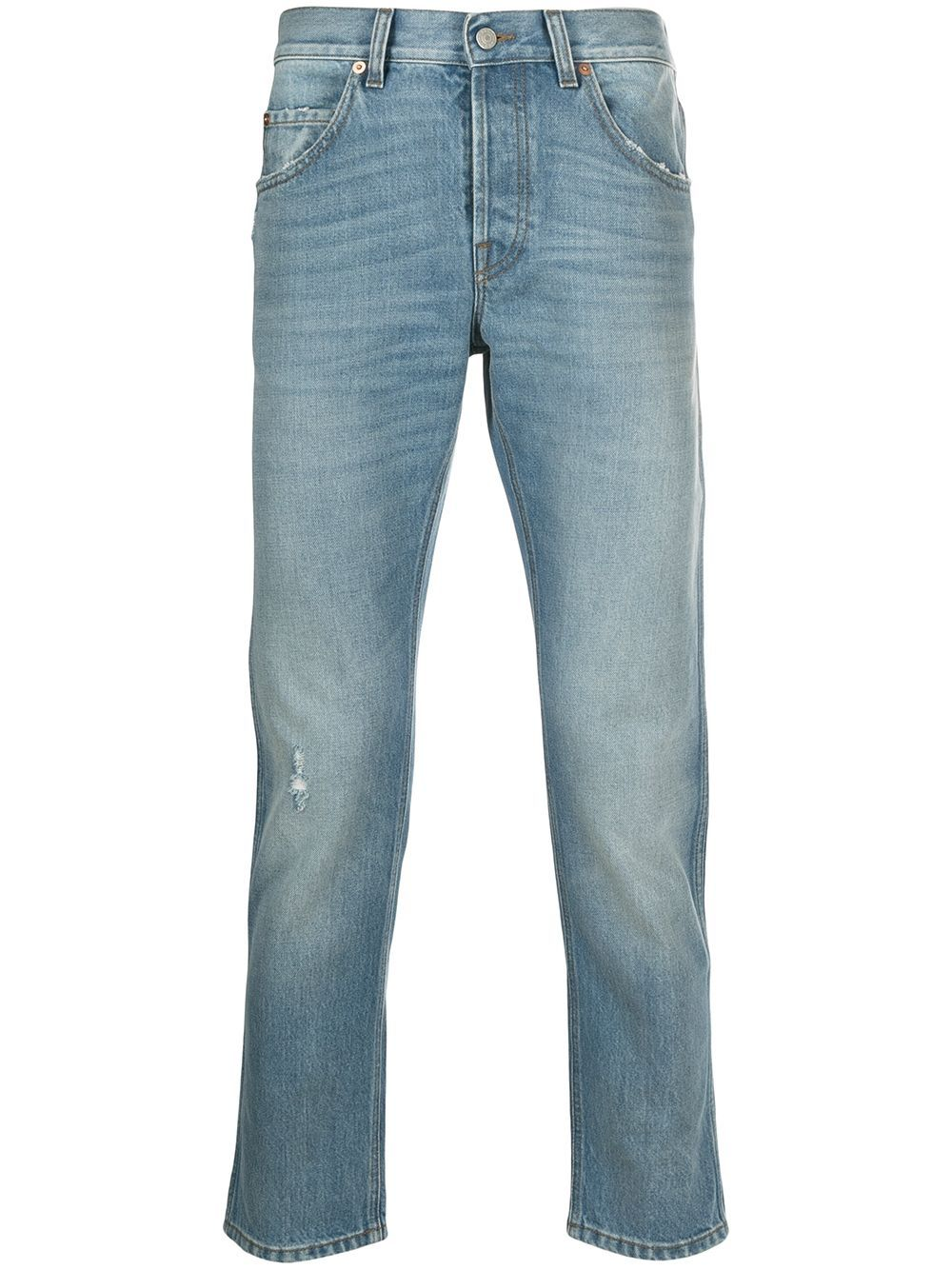 Picture of Gucci   Tapered 5Pkt Jeans Eco Bleach Wshd
