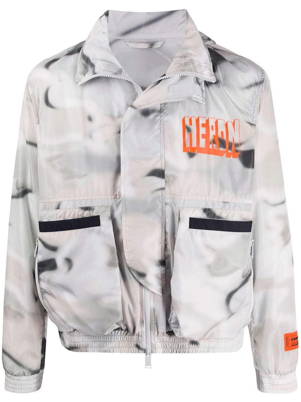Picture of Heron Preston | Windbreaker Nylon Camou