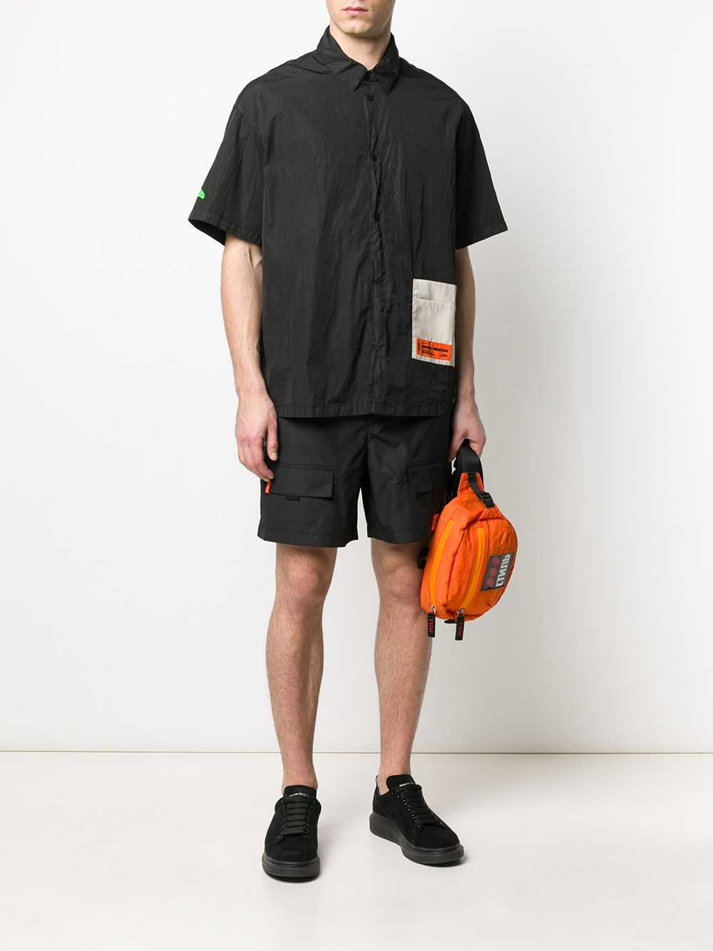 Picture of Heron Preston | Pocket Shirt Ss Nylon