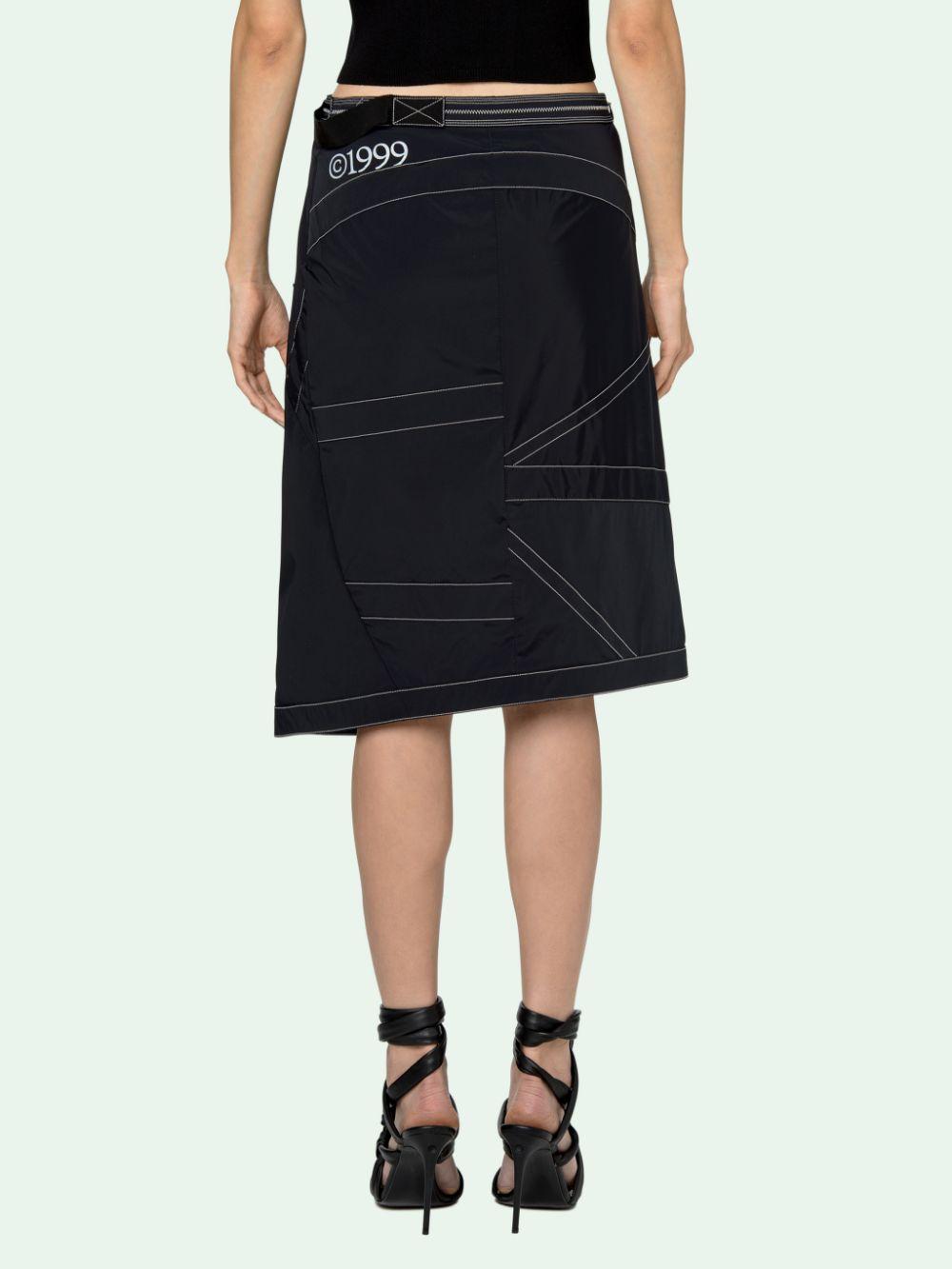 Picture of Off White | Nylon Parachute Skirt