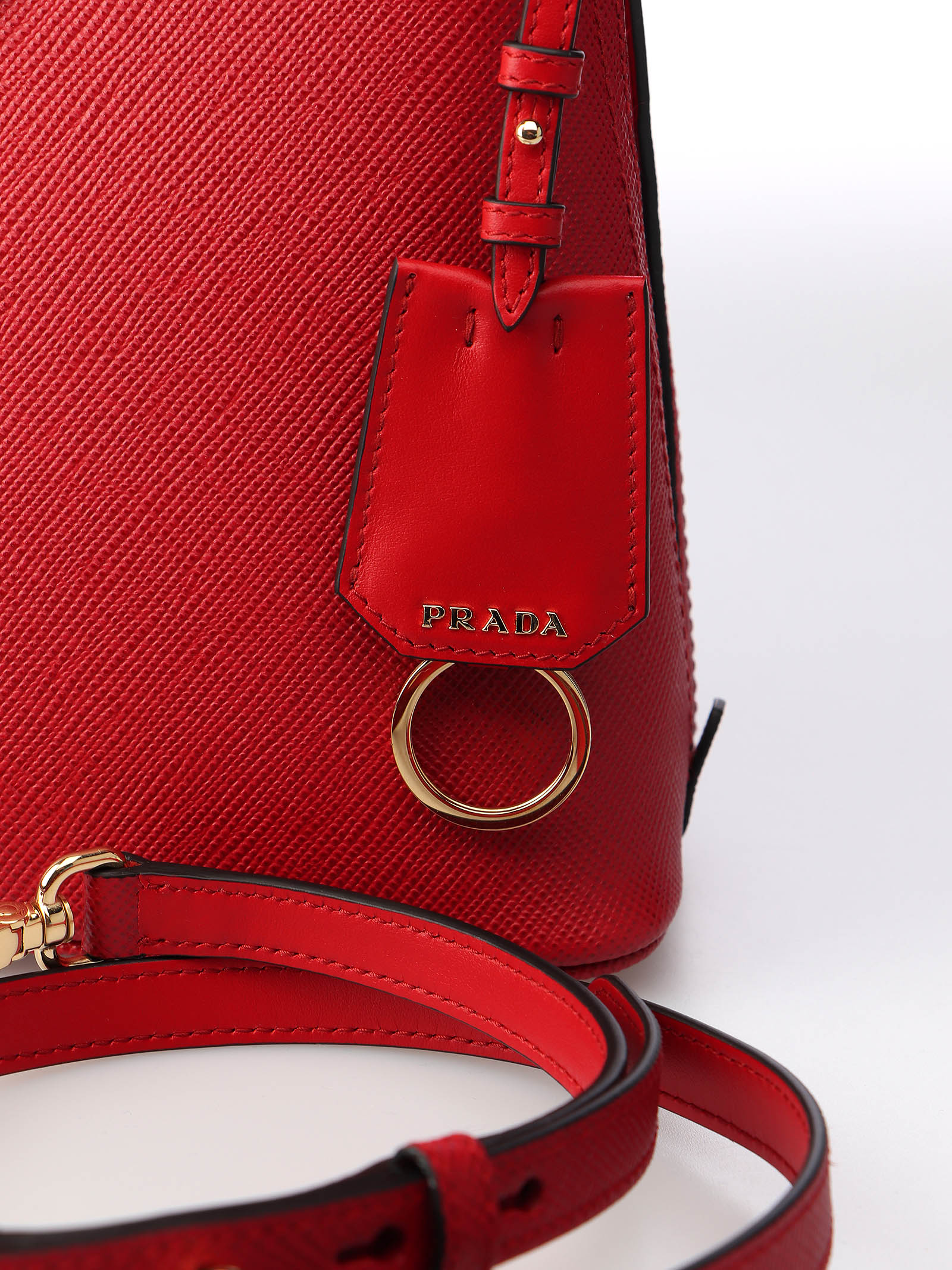 Immagine di Prada | Small Saffiano Leather Prada Matinee Bag