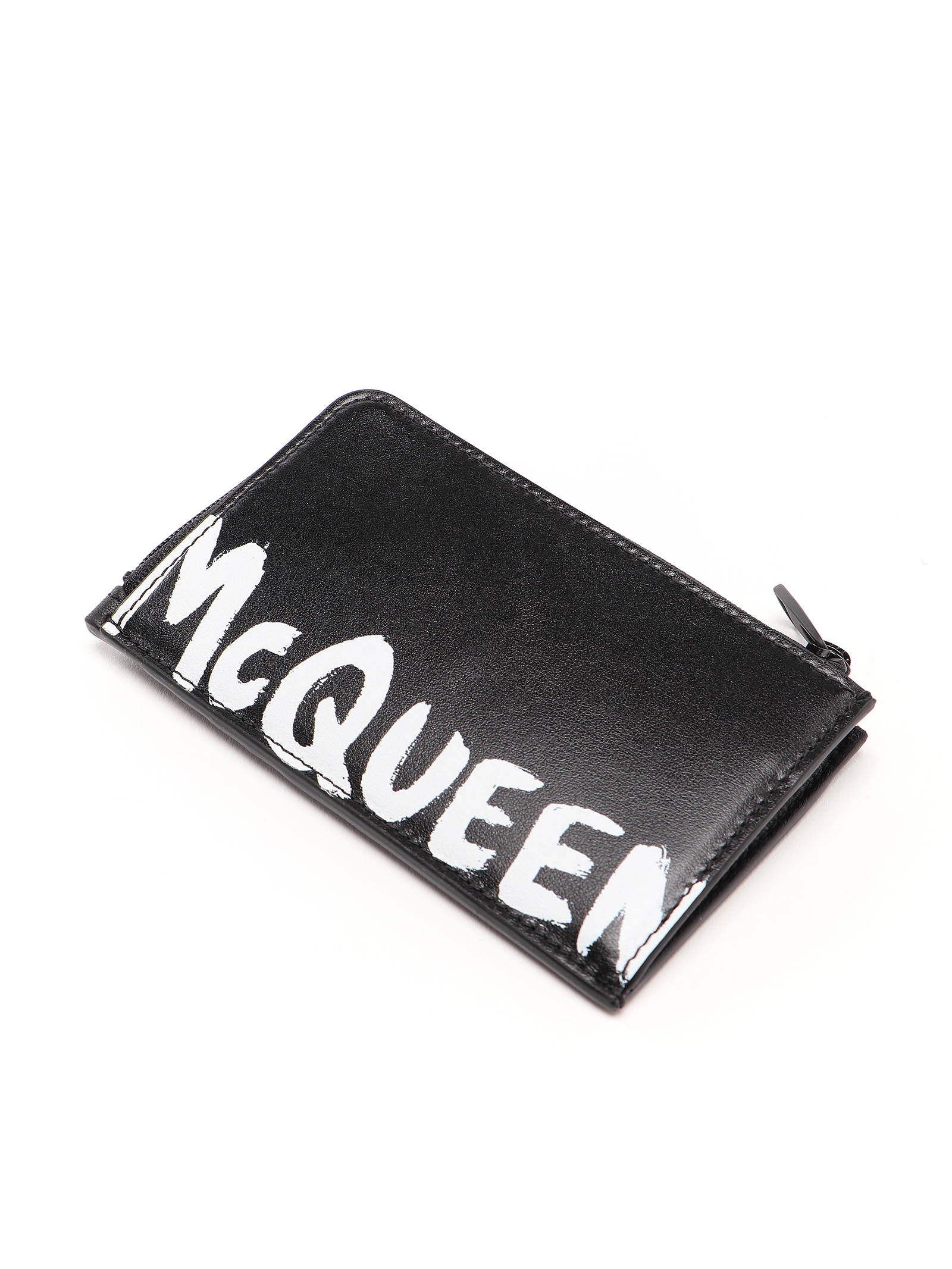 Picture of Alexander Mcqueen | Large Zip Coin Card Case