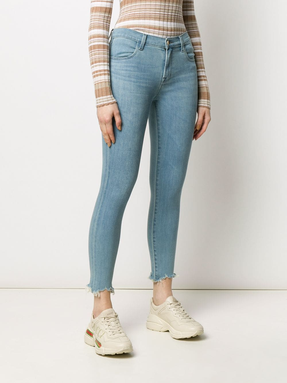 Picture of J Brand | Raw Alana Jeans