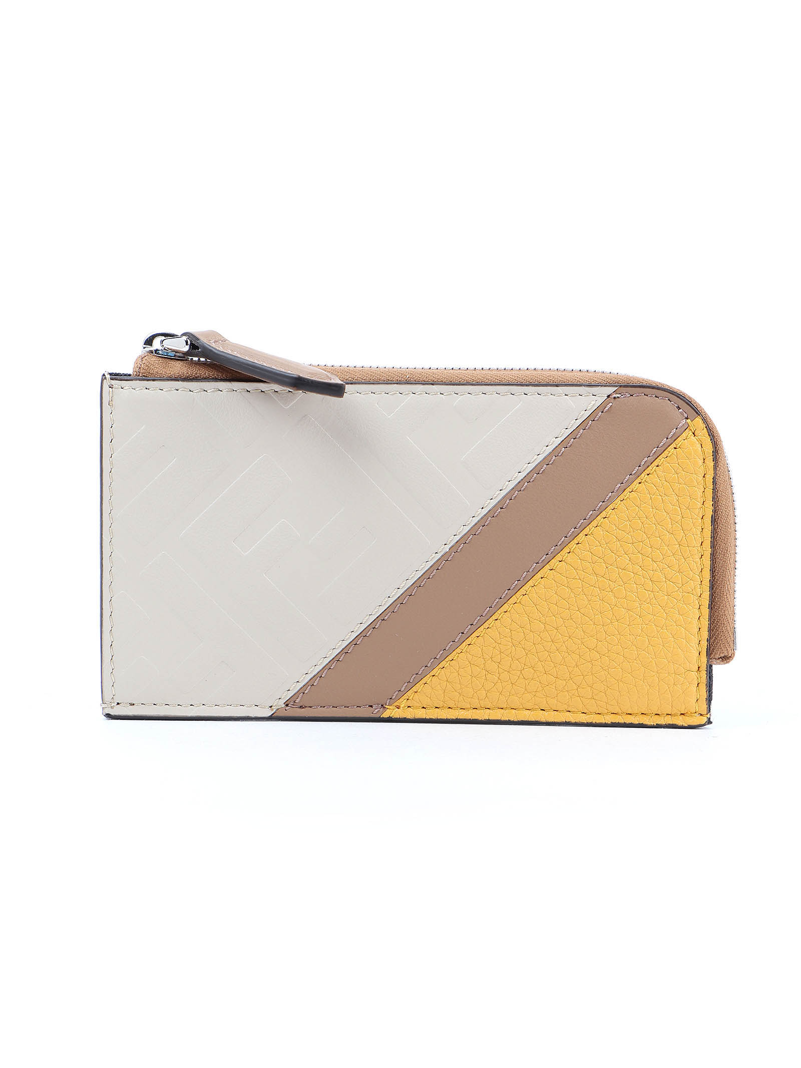 Picture of Fendi | Ff Leather Coin Case
