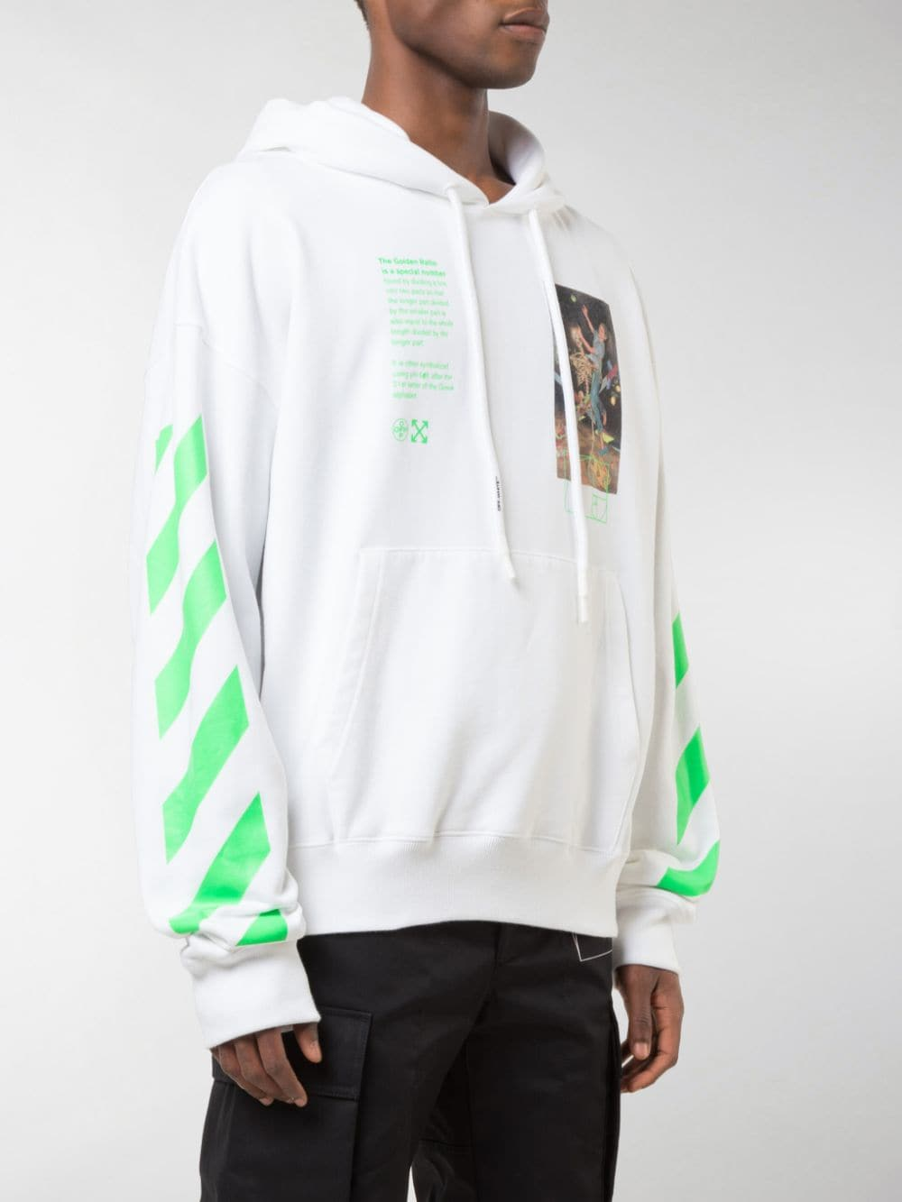 Immagine di Off White   Pascal Painting Over Hoodie