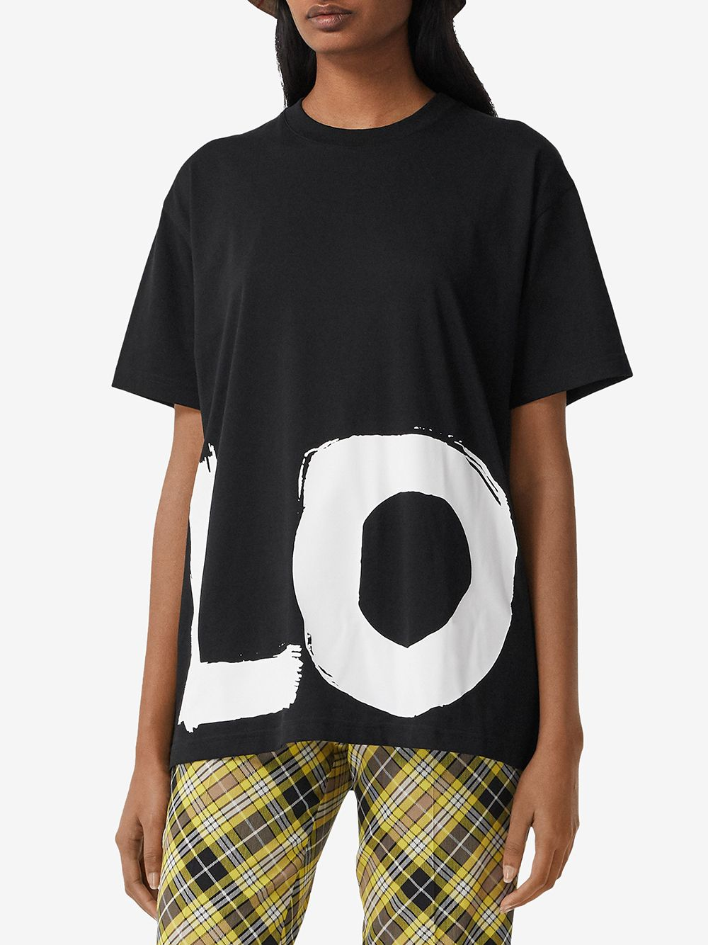 Picture of Burberry | Carrick Love Print T-Shirt