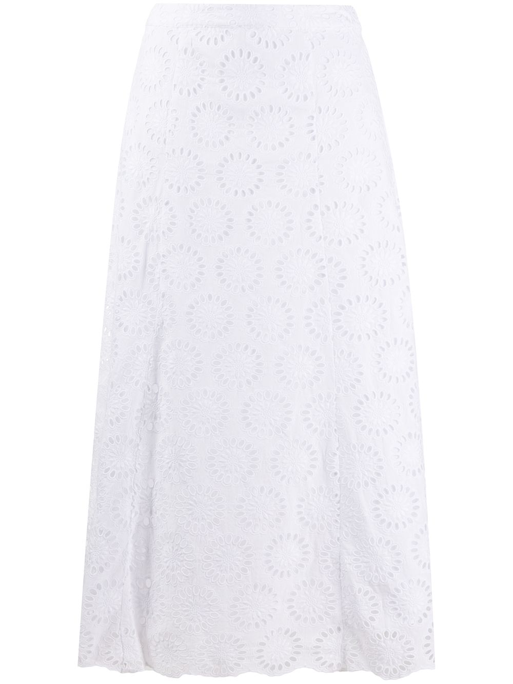 Picture of Michael Kors | Floral Eylt Lng Skirt