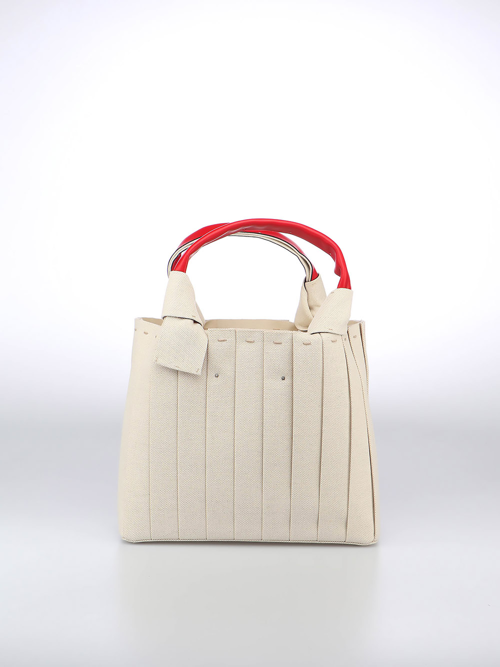 Picture of Valentino Garavani | Atelier Bag Vg 05 Plissé Small Tote