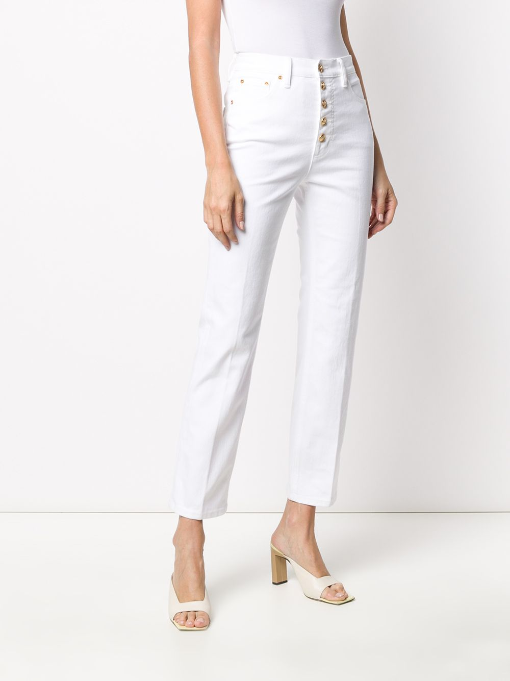 Picture of Tory Burch | Button-Fly Jeans