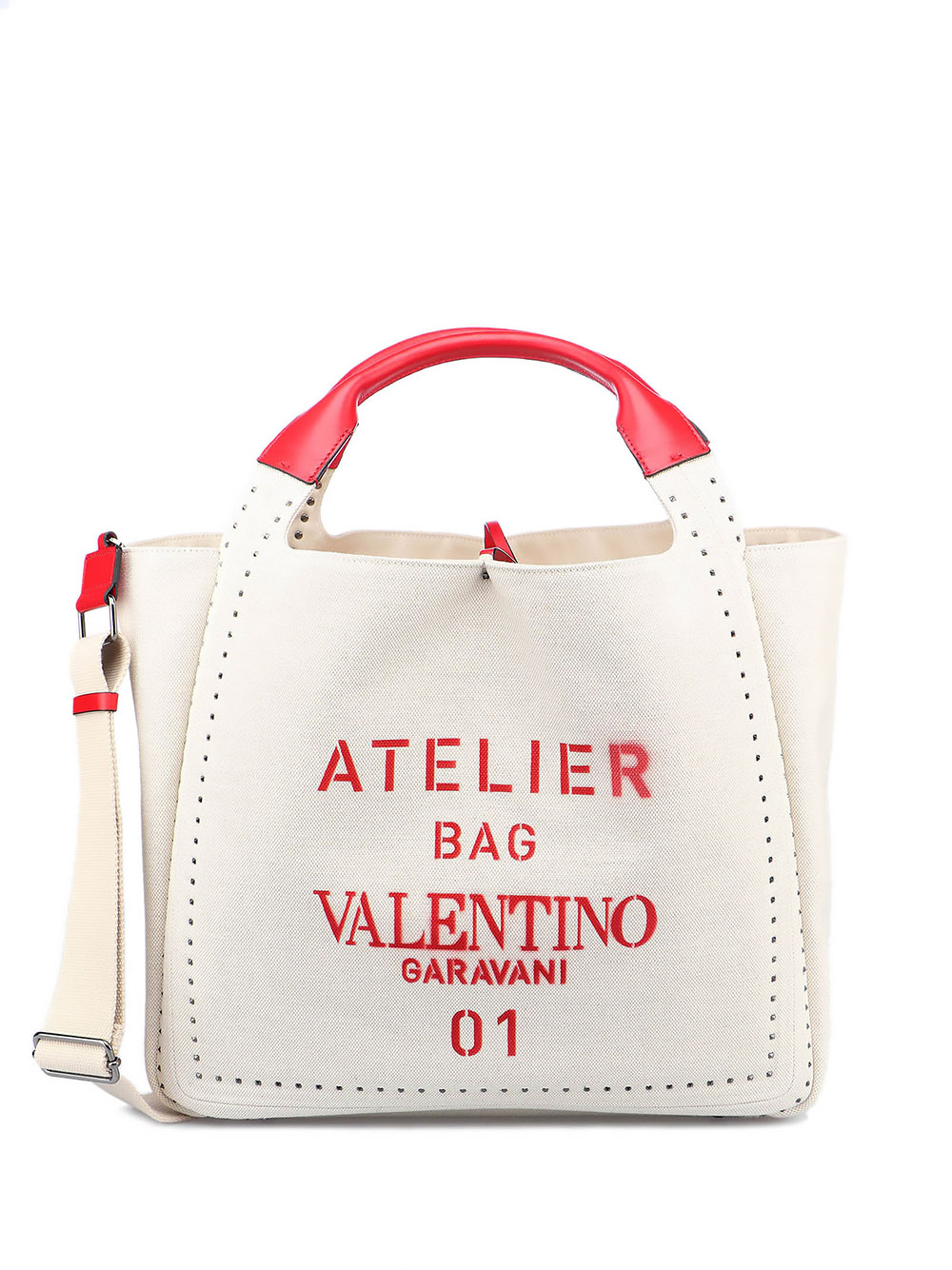 Picture of Valentino Garavani | Atelier Bag Vg 01 Metal Stitch Tote