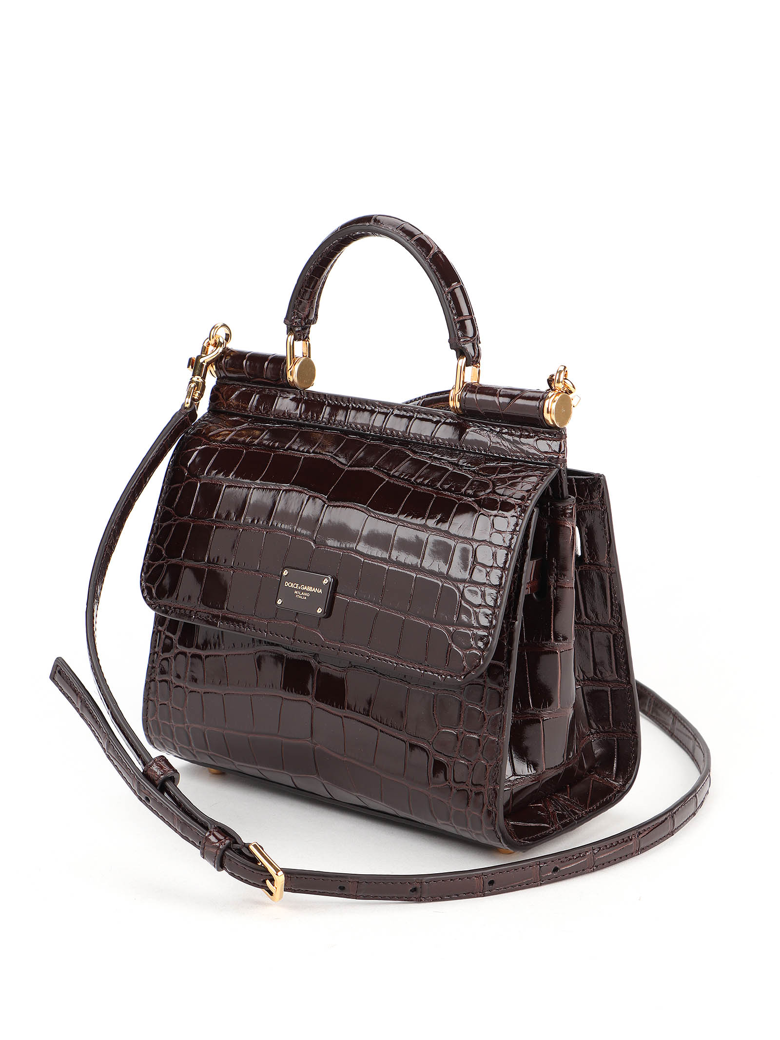 Immagine di Dolce & Gabbana | Alligator Shoulder Bag