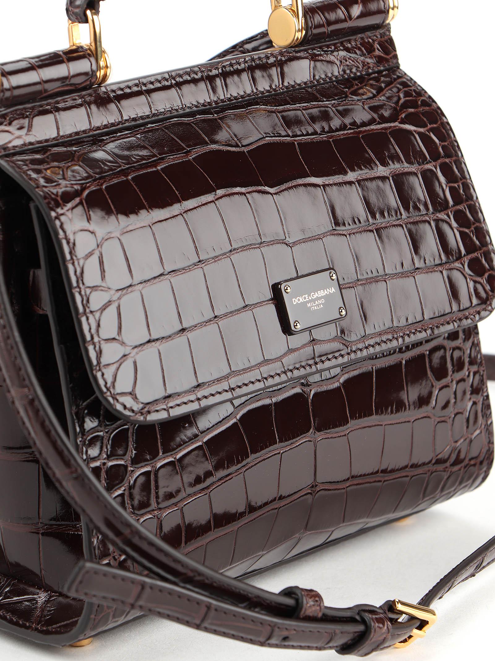 Picture of Dolce & Gabbana   Alligator Shoulder Bag