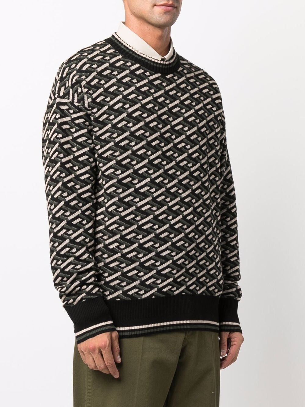 Picture of Versace | Knit Sweater
