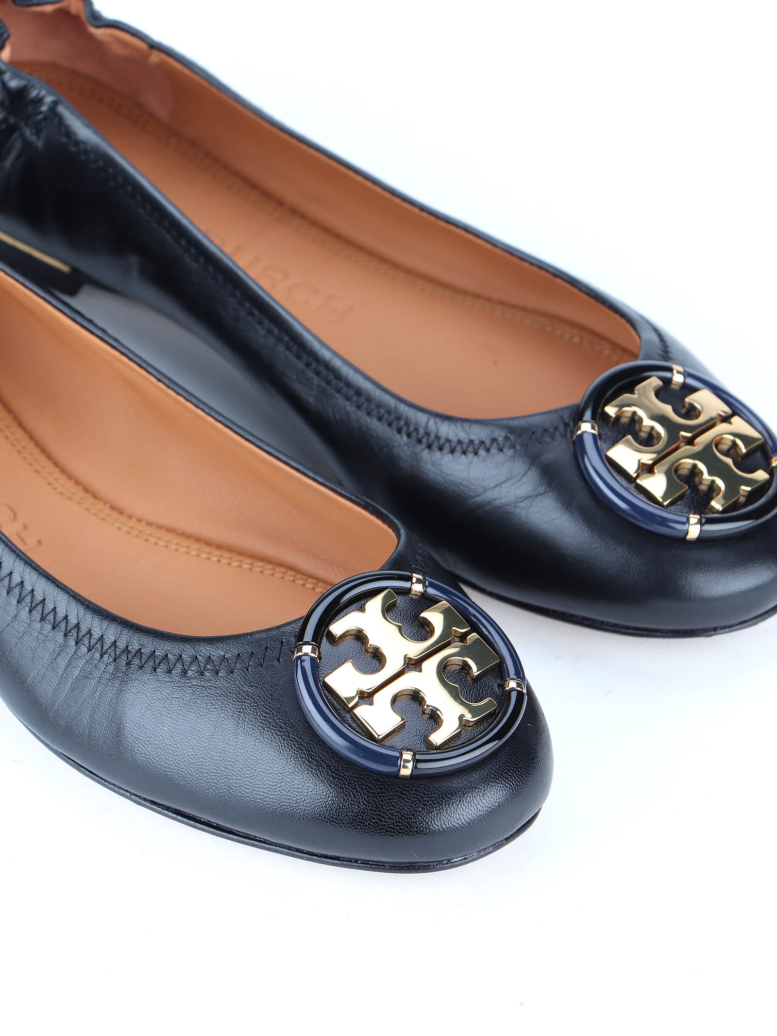 Picture of Tory Burch   Minnie Ballet With Multi Logo
