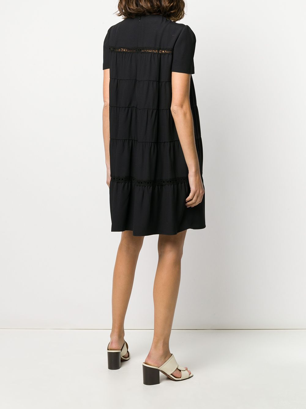 Picture of Prada | Dress Sable`Raso+Pizzo