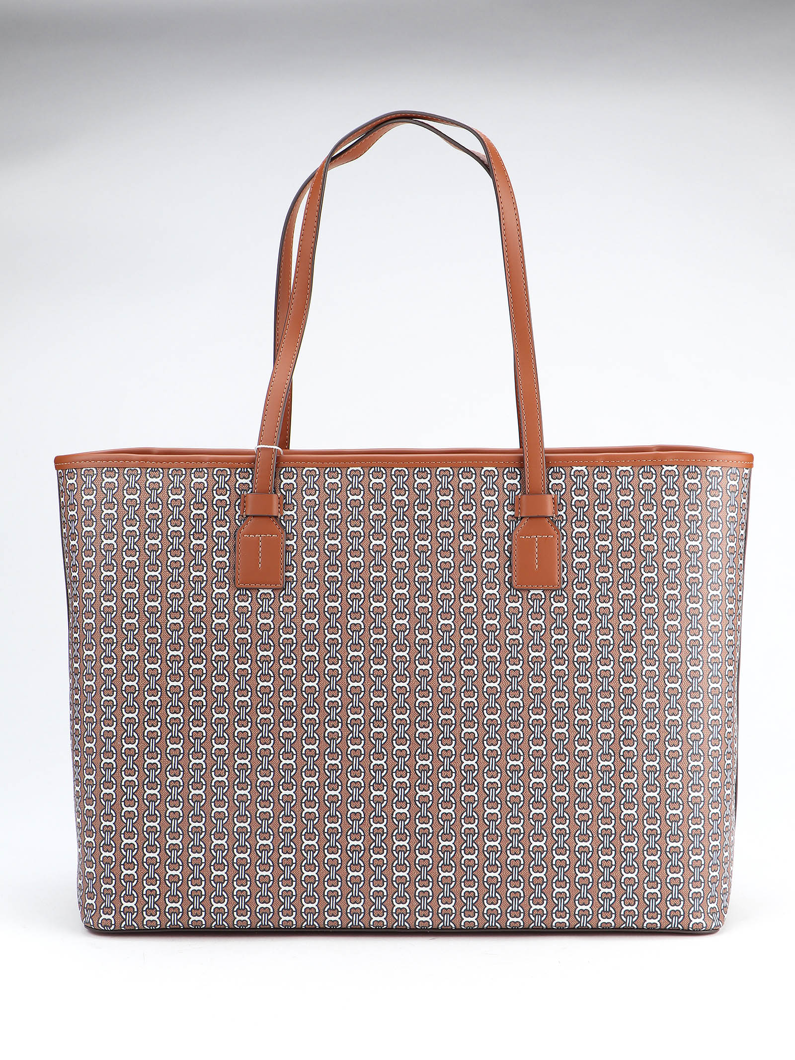 Immagine di Tory Burch | Gemini Link Canvas Top-Zip Tote