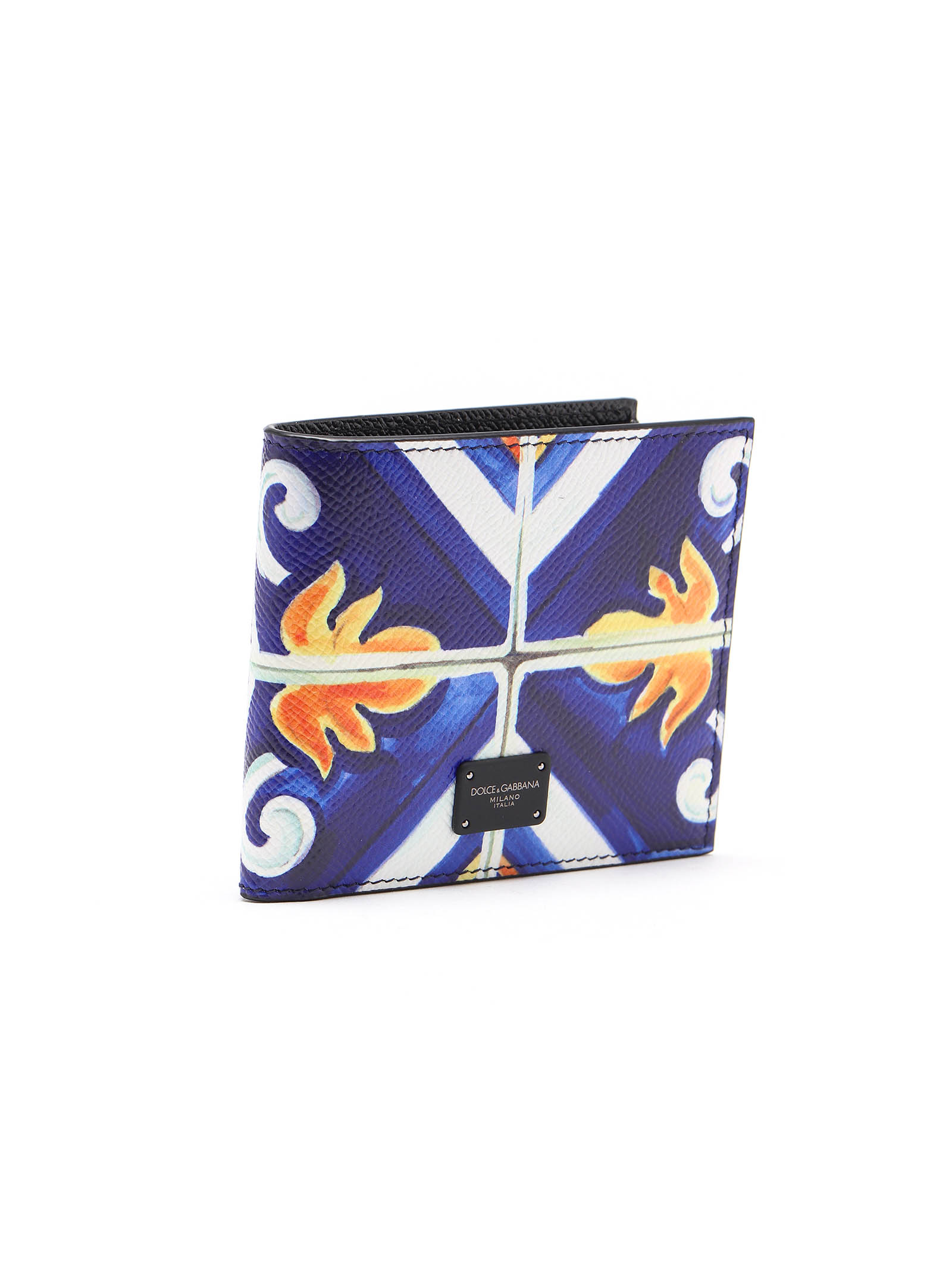 Picture of Dolce & Gabbana | Maiolica Print Wallet