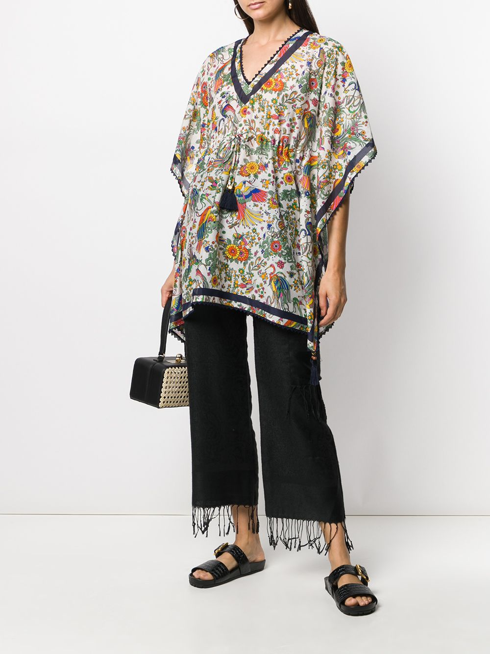 Picture of Tory Burch | Printed Short Caftan