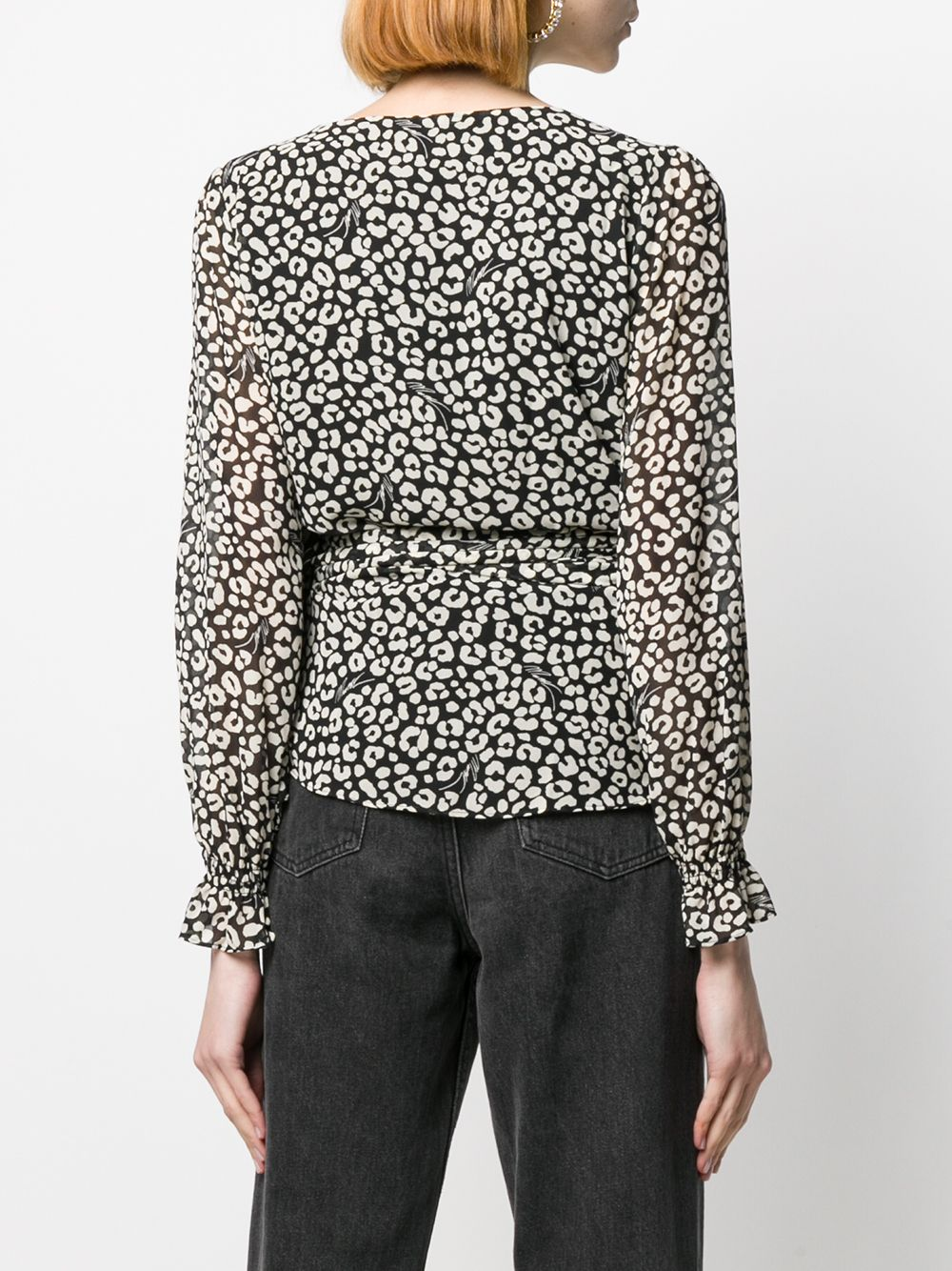 Immagine di Michael Kors | Lux Cat Wrap Top