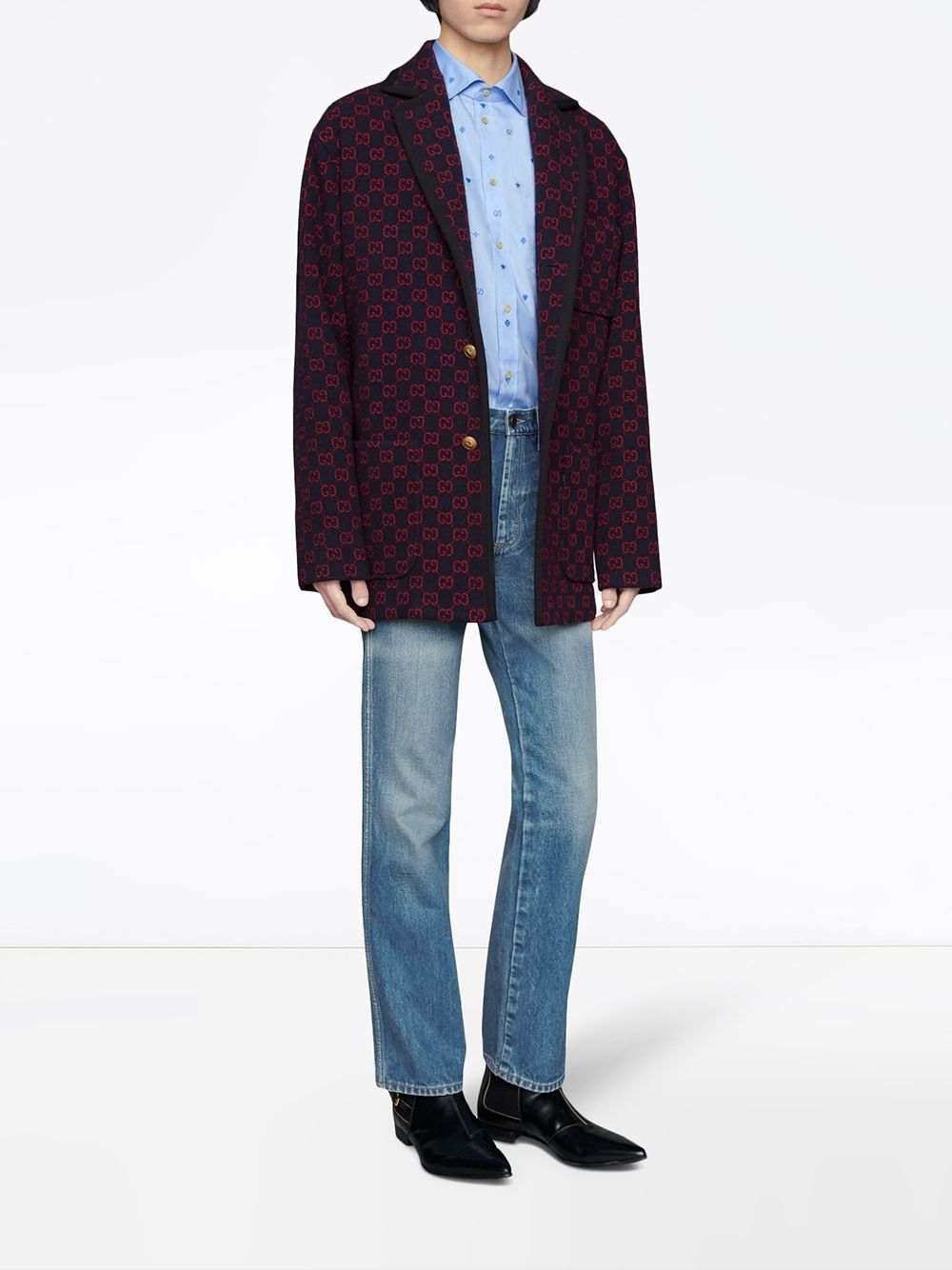 Picture of Gucci | Gg Wool Jacket