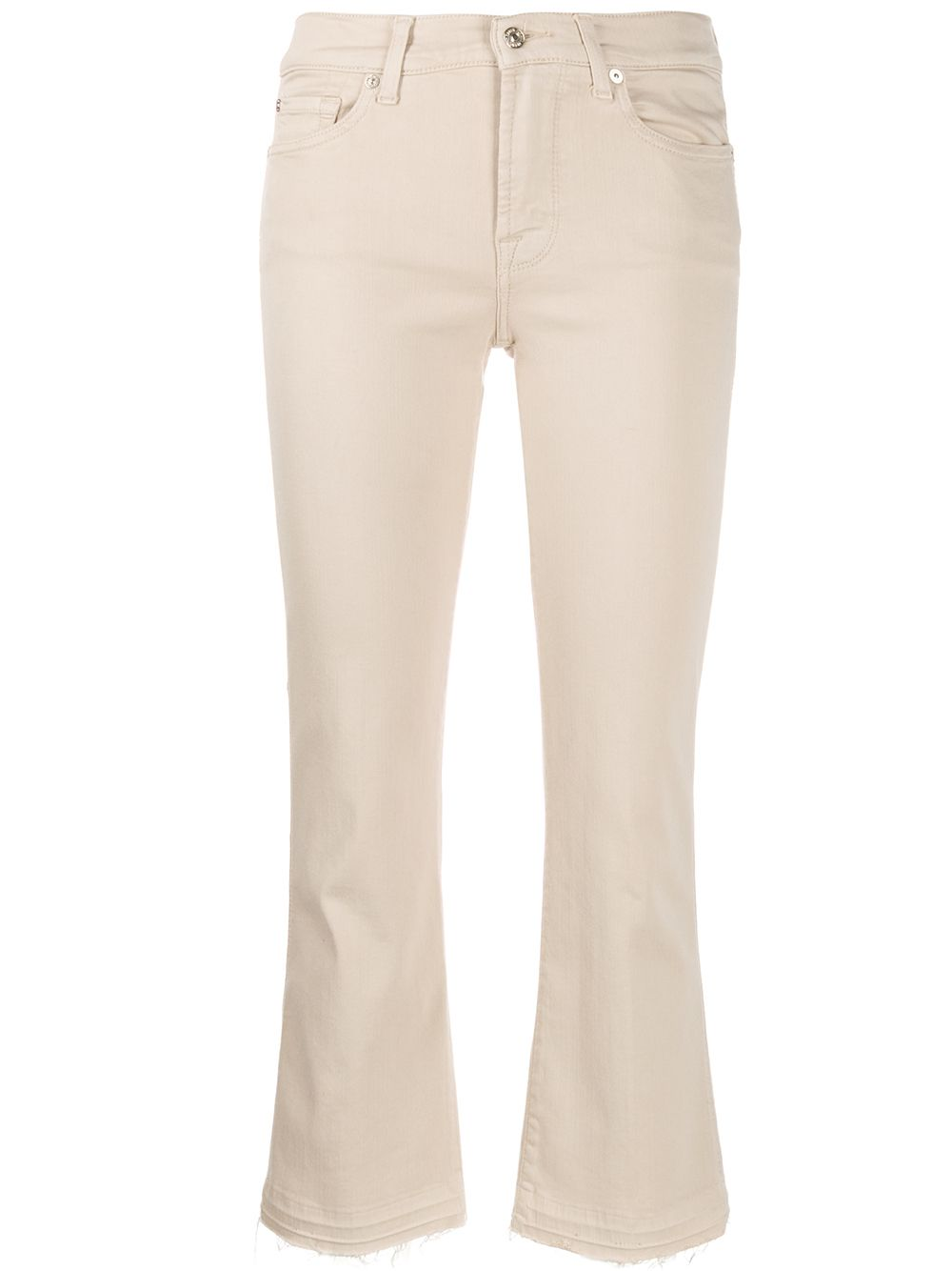 Picture of 7 For All Mankind | Cropped Unrolled Jeans