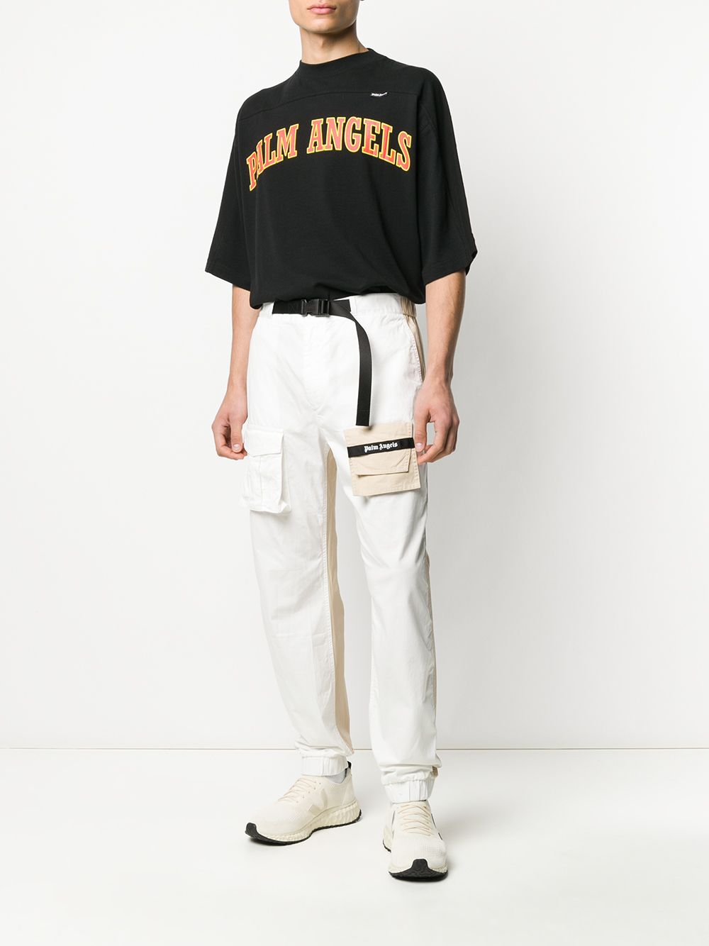 Picture of Palm Angels | Twotone Cosy Pants