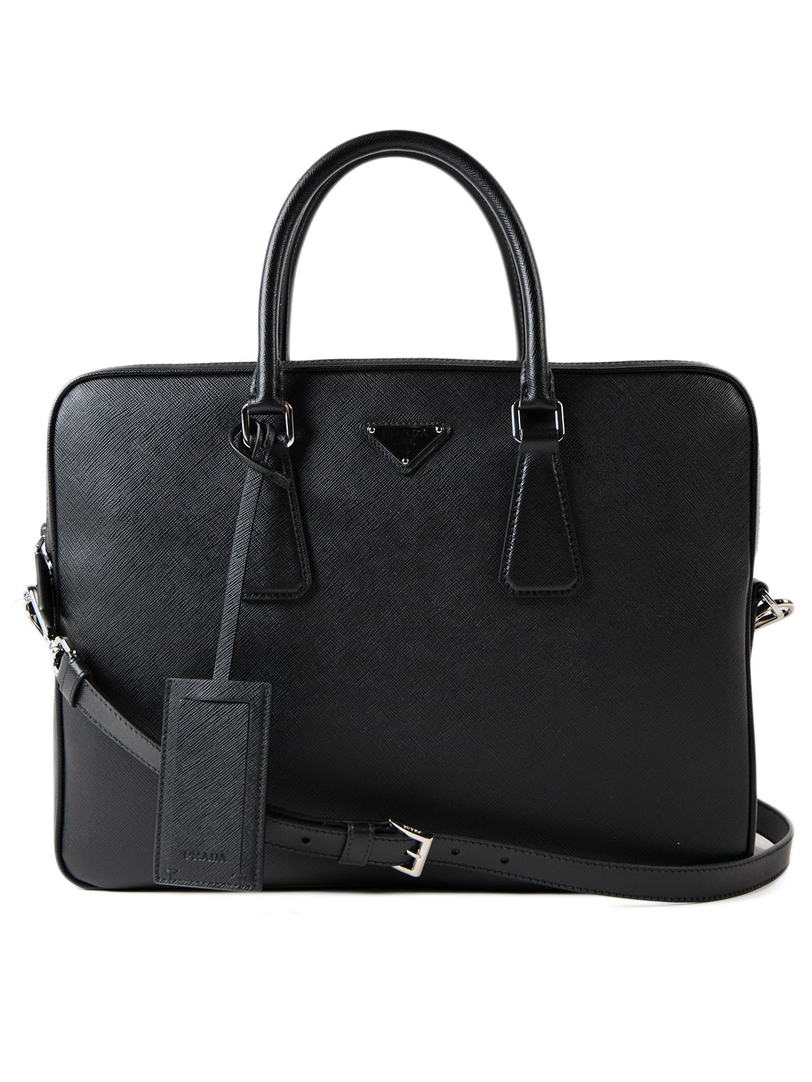 Picture of Prada | Briefcase Saffiano