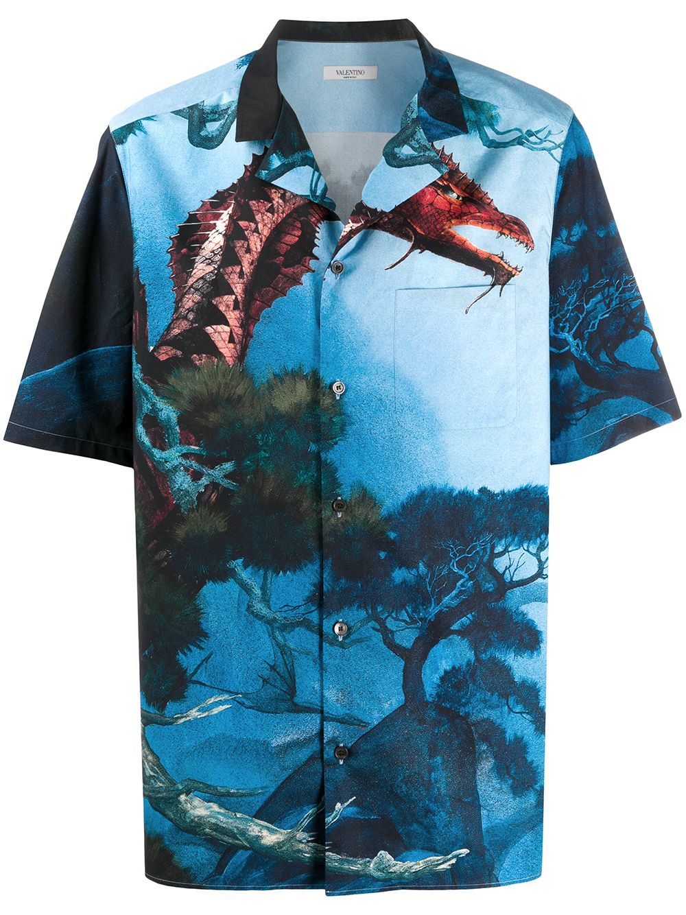 Picture of Valentino | Shirt Dragons Garden