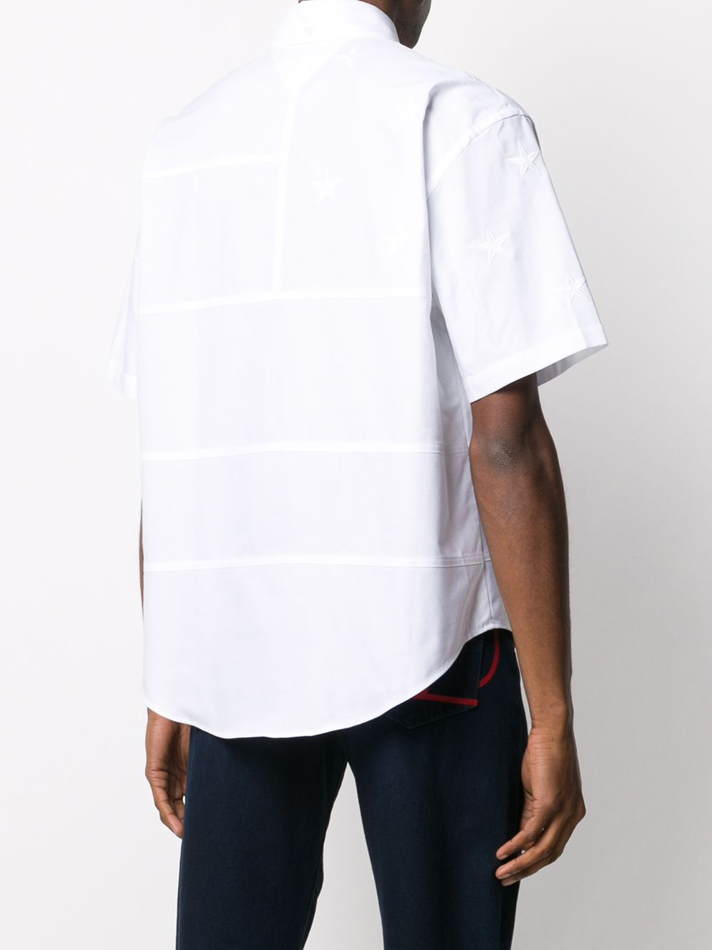 Picture of Tommy Hilfiger | Archive Fit Ss Flag Shirt
