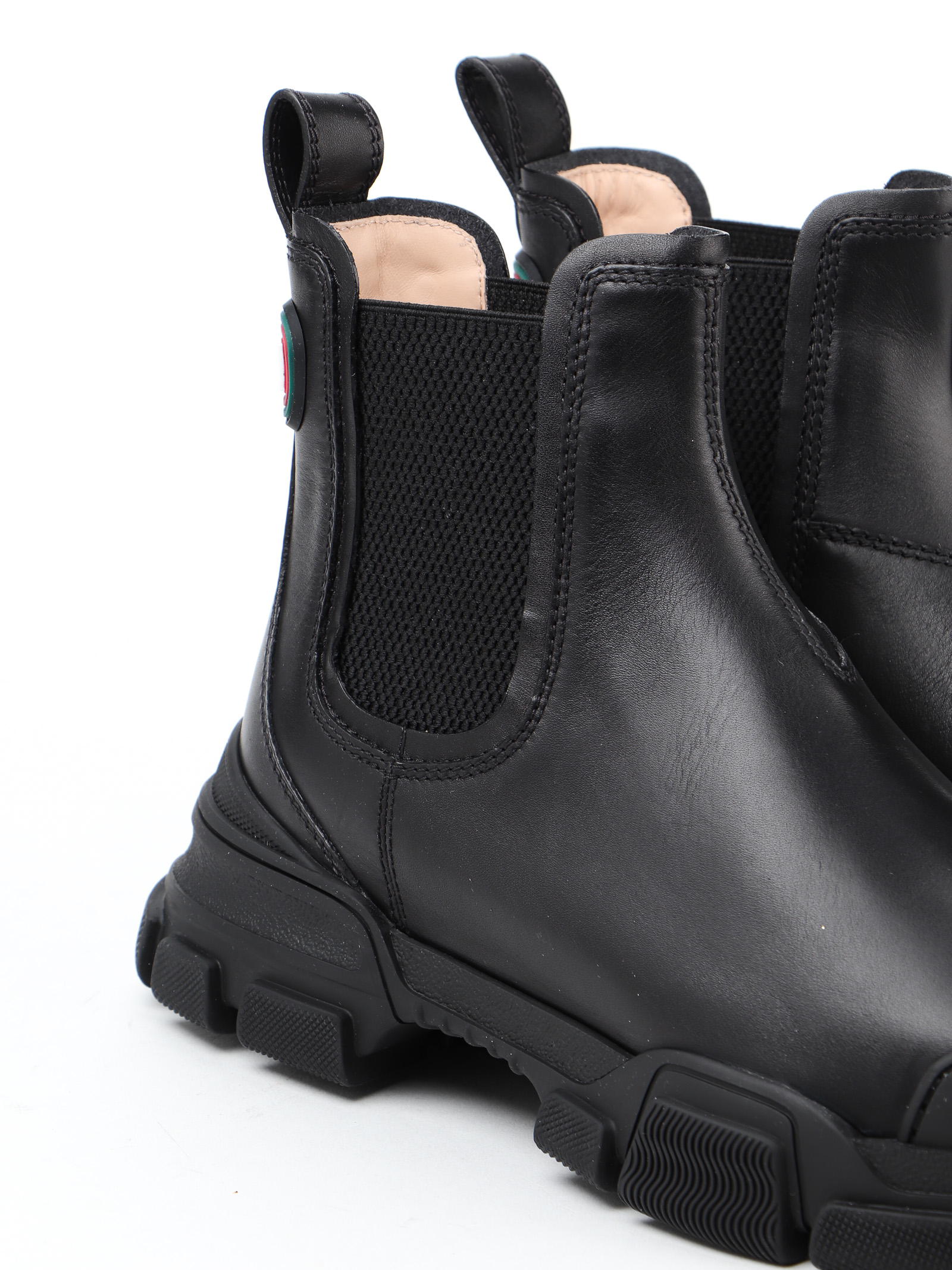 Immagine di Gucci | Chelsea Leather Ankle Boot