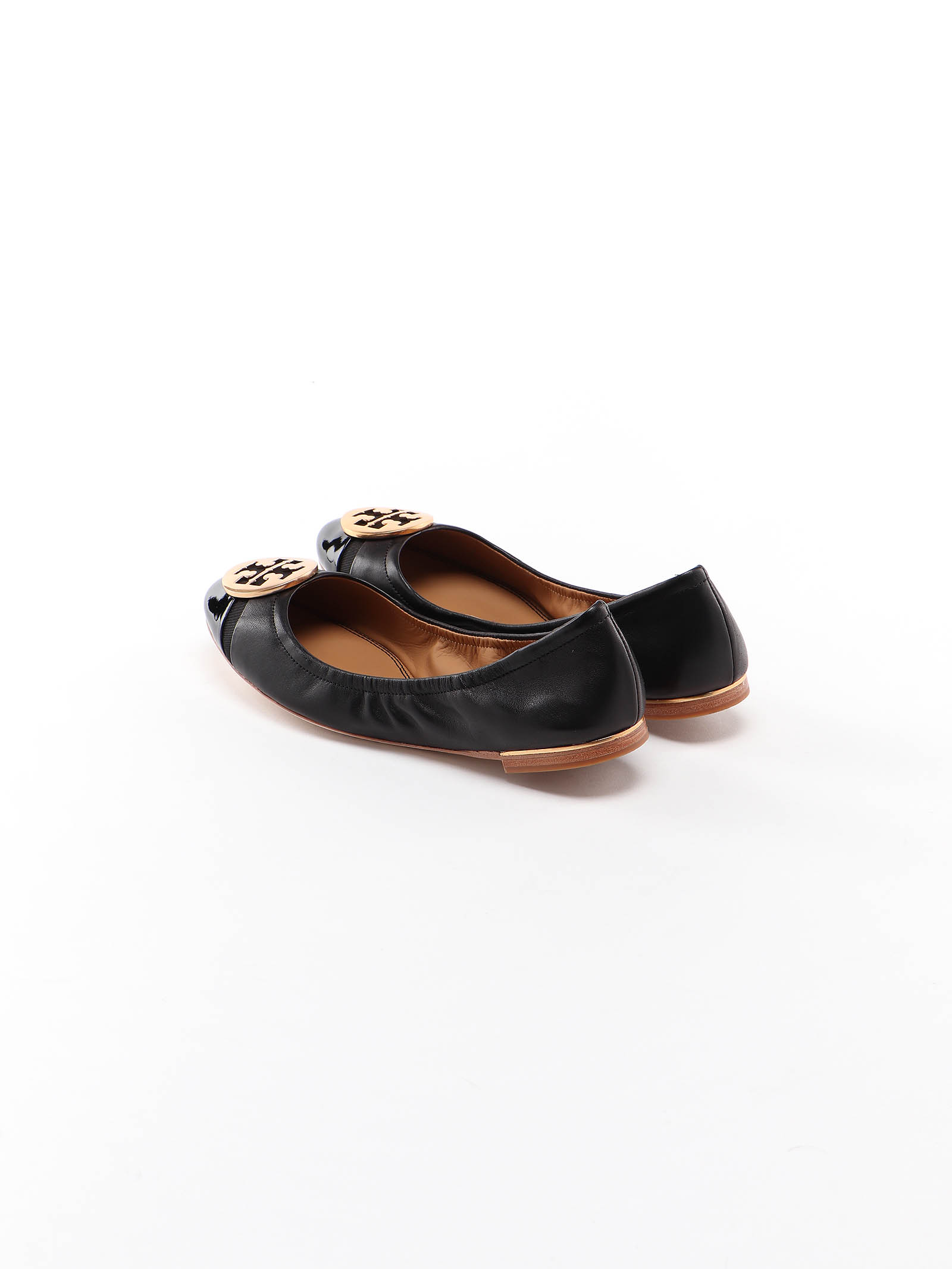 Picture of Tory Burch | Minnie Cap-Toe Ballet