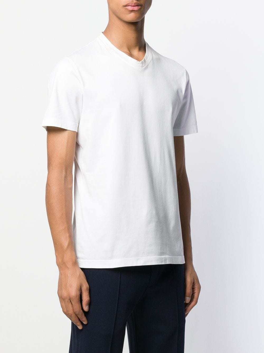 Picture of Brunello Cucinelli | S/S V Neck T-Shirt