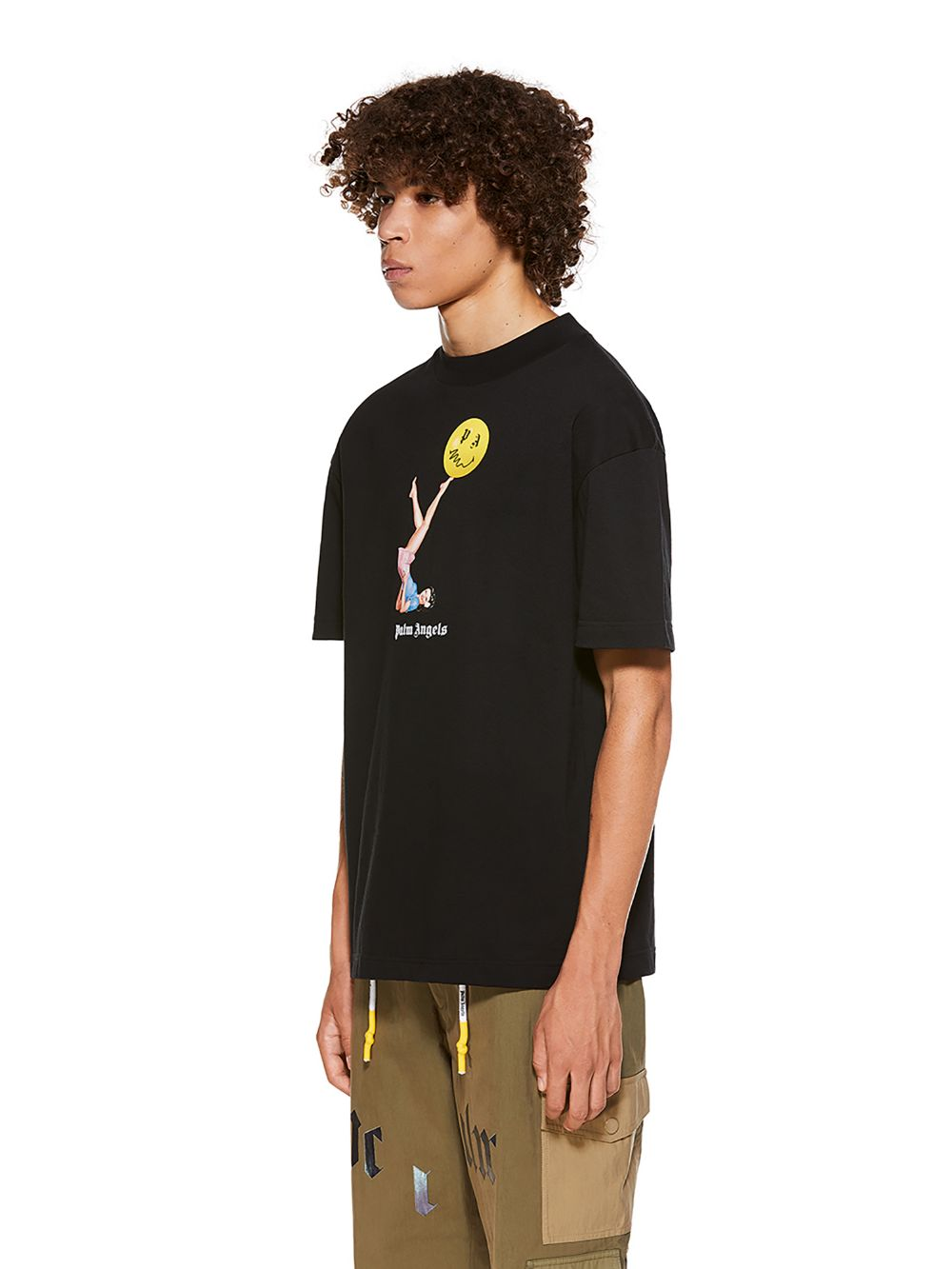 Picture of Palm Angels | Juggler Pin Up Tee