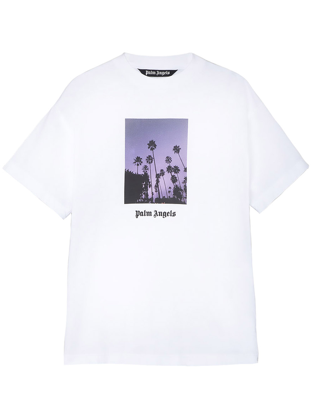 Picture of Palm Angels Stars And Palms Tee