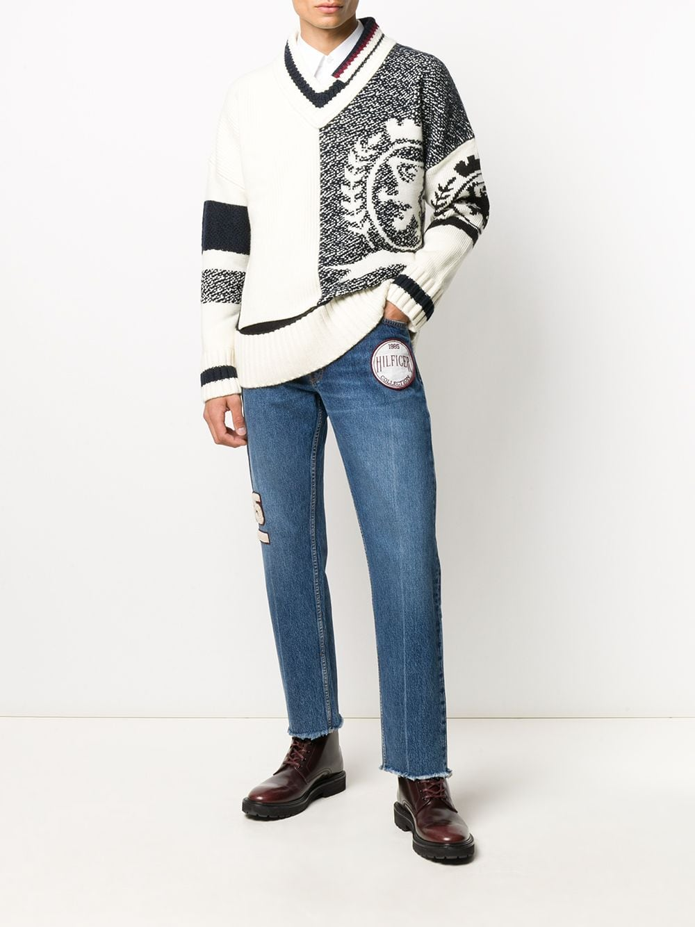 Immagine di Tommy Hilfiger | Cropped Indigo Denim Pants