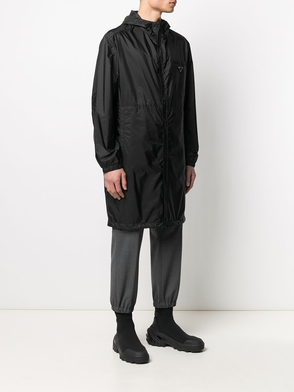 Picture of Prada | Raincoat Re-Nylon