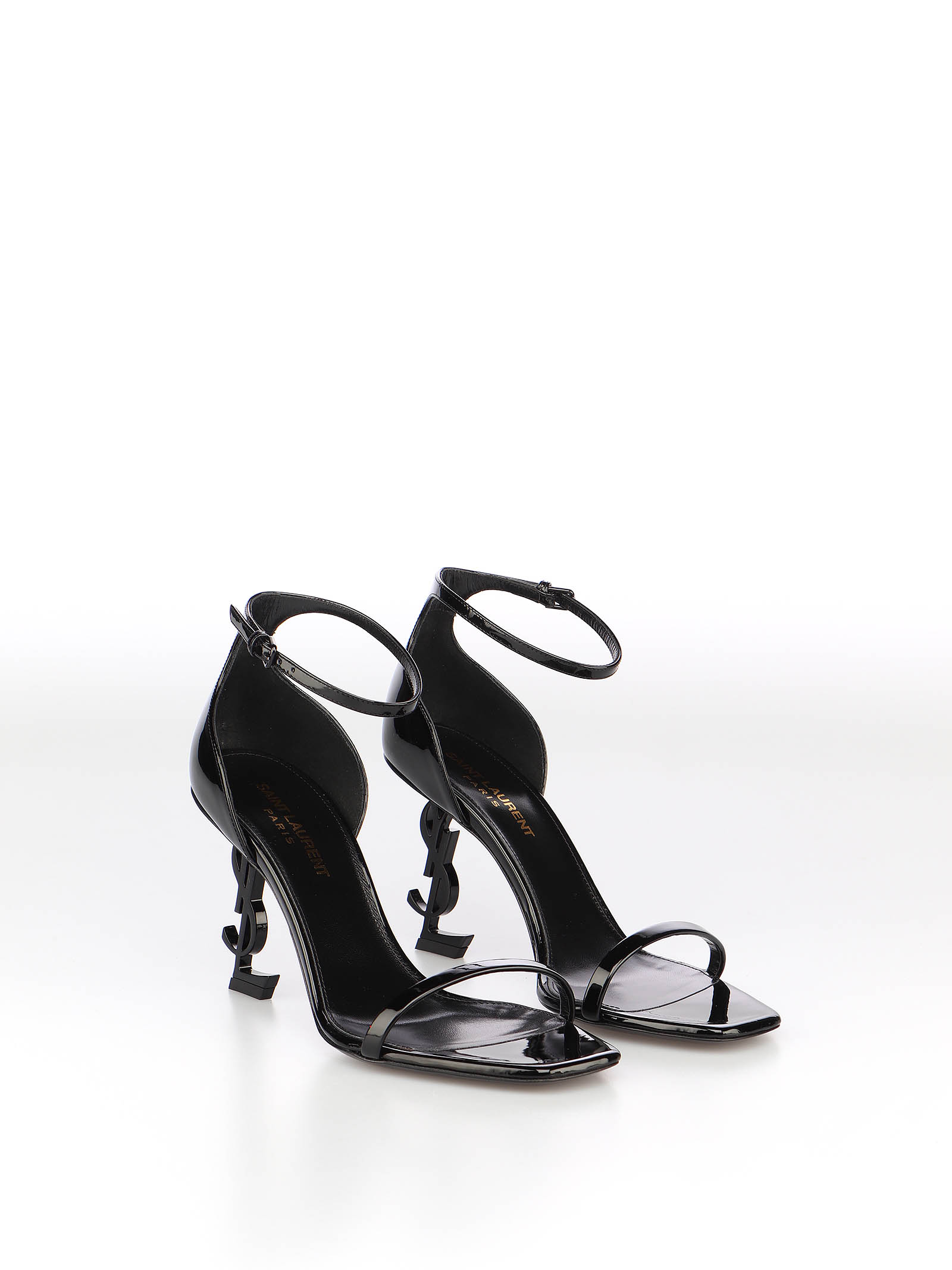 Picture of Saint Laurent | Opyum 85 Ysl Heel Sandal