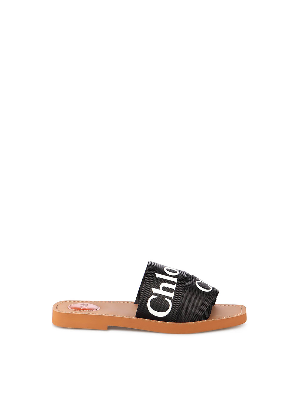 Picture of Chloe` | Woody Flat Sandal