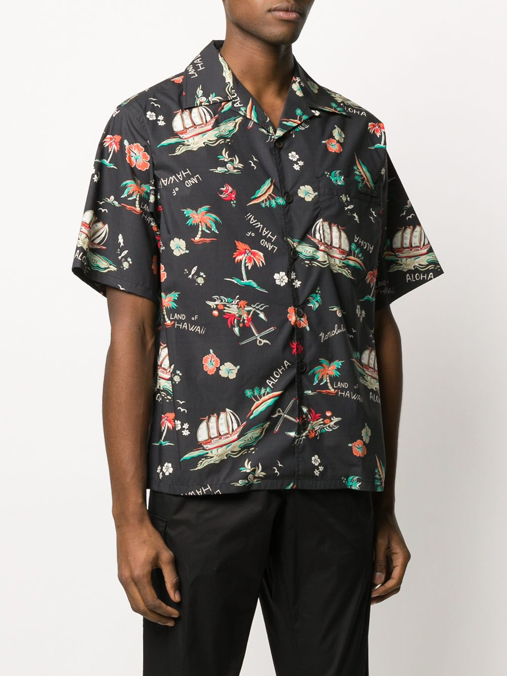 Immagine di Prada | Bowling Shirt Comics Hawaii