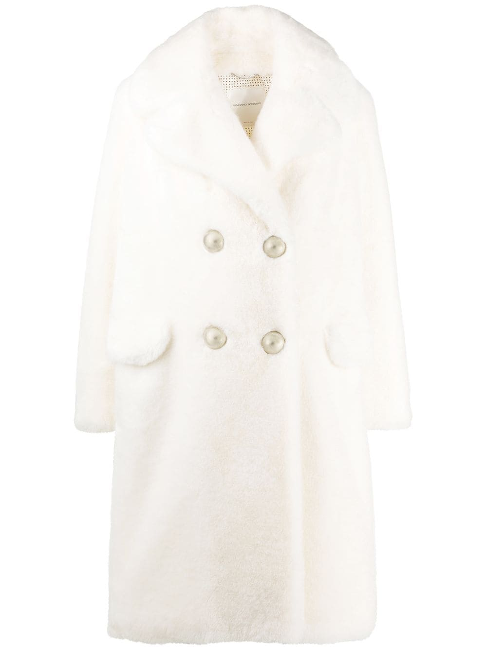 Picture of Ermanno Scervino | Coat Eco Fur