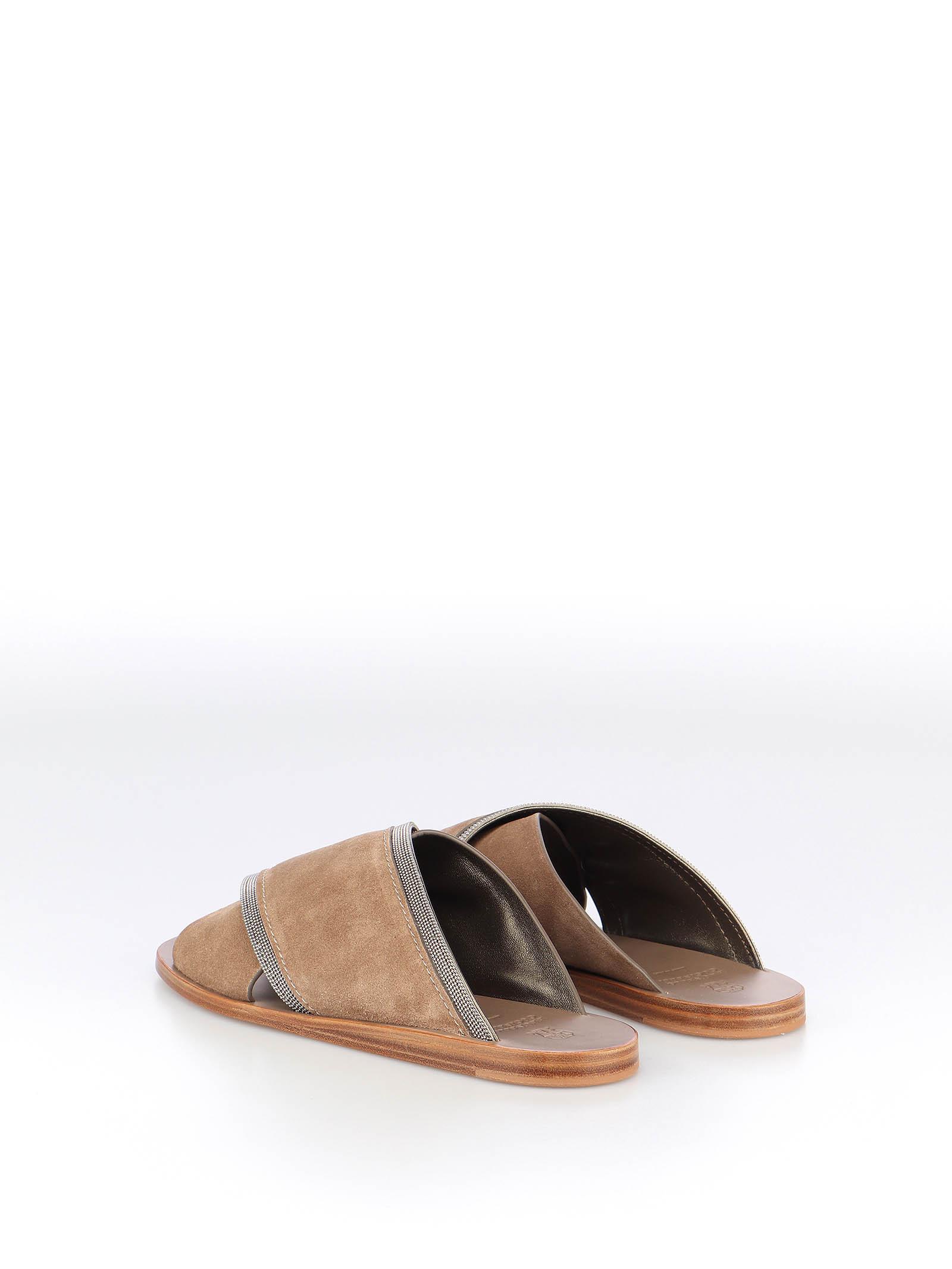 Picture of Brunello Cucinelli | Flat Sandal