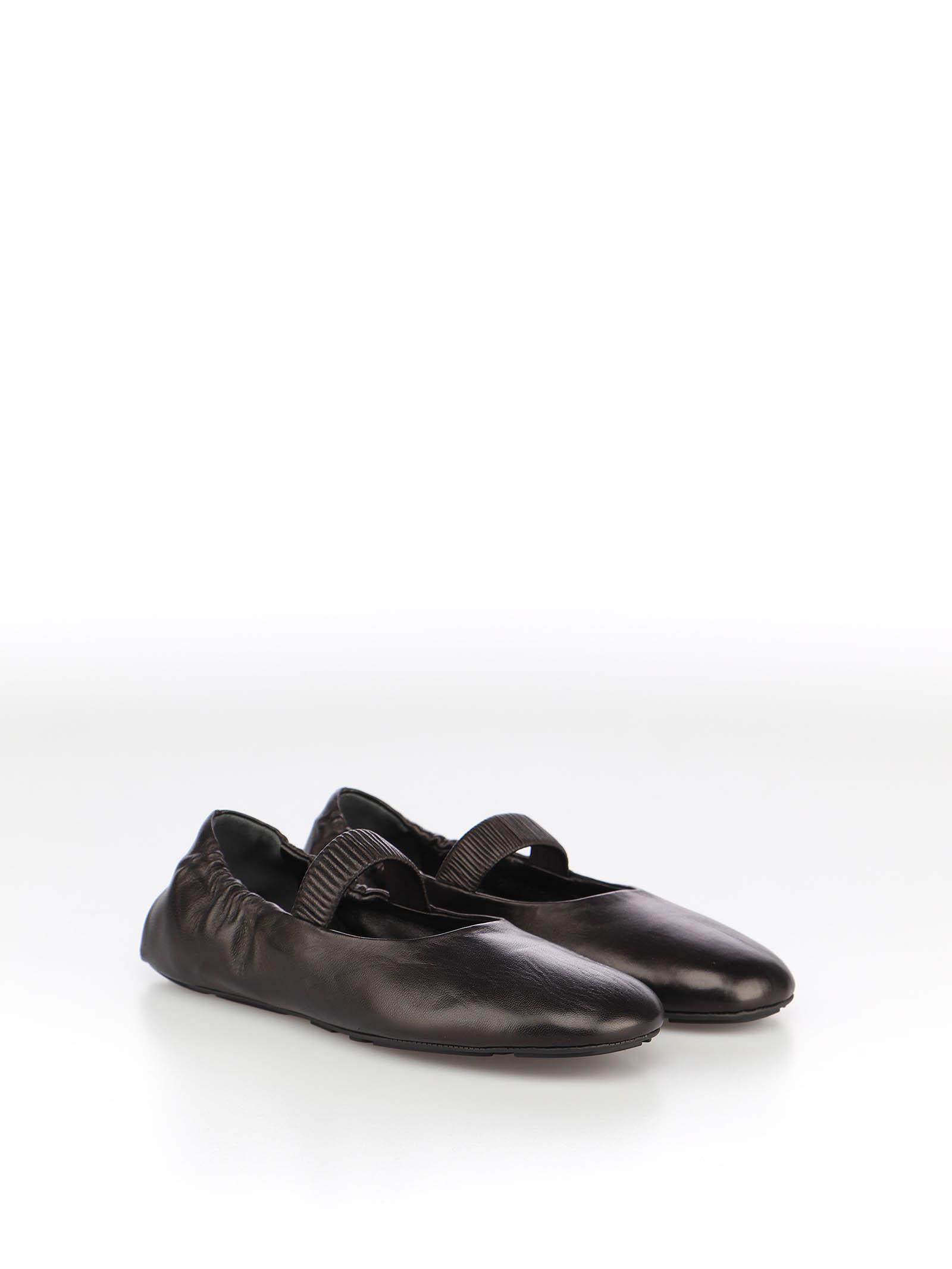 Immagine di Prada   Leather Ballerina